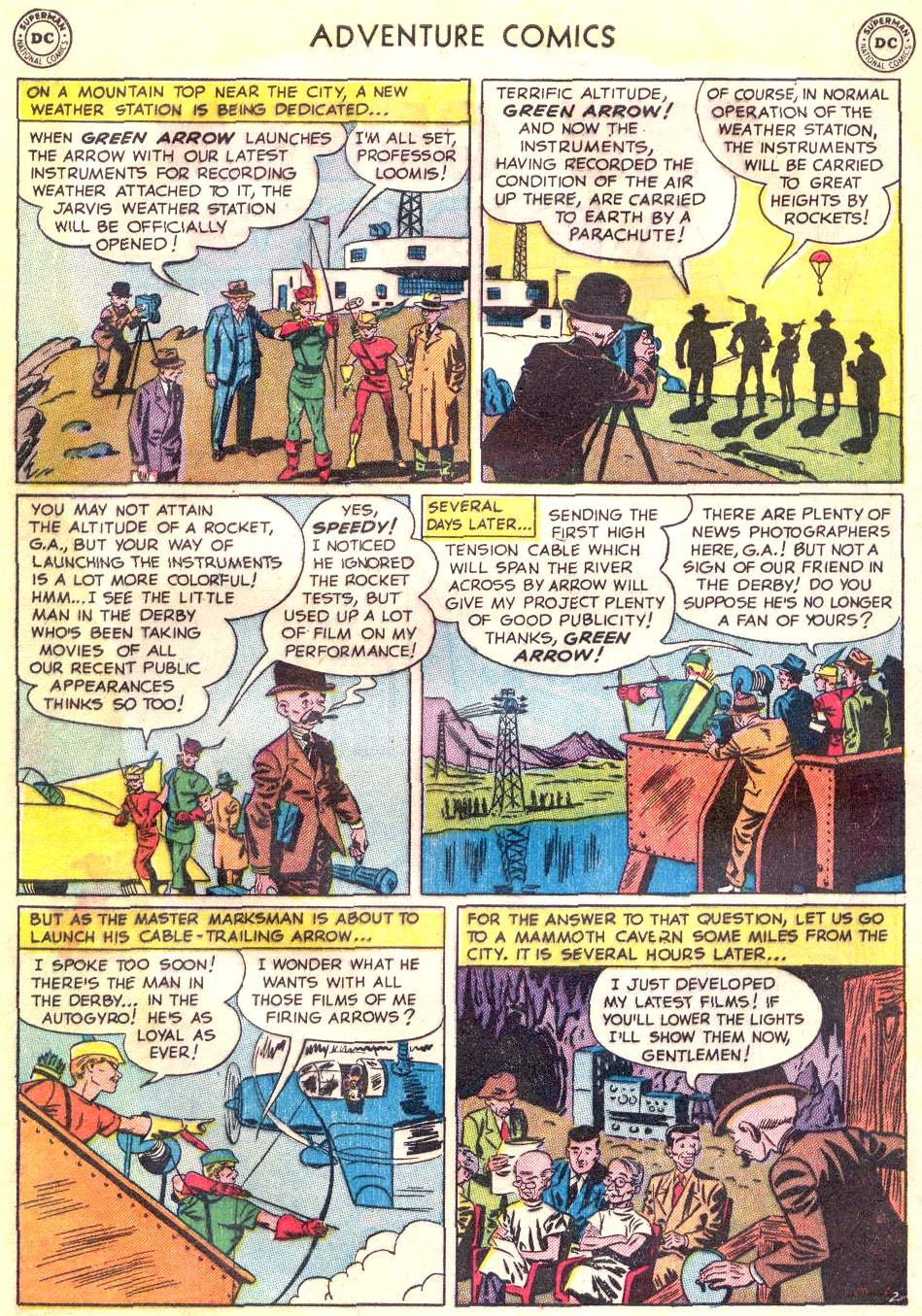 Read online Adventure Comics (1938) comic -  Issue #166 - 32