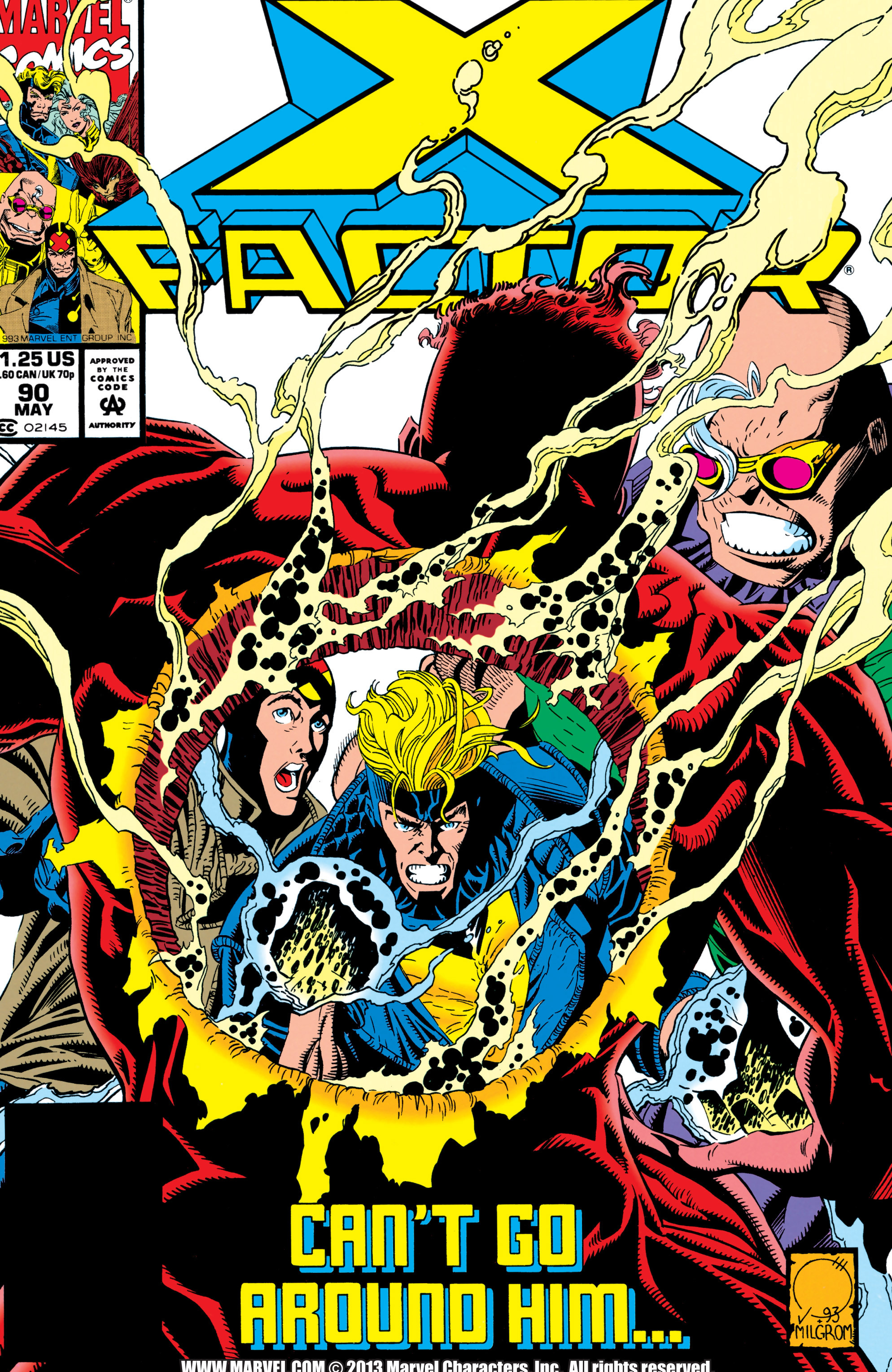 Read online X-Factor (1986) comic -  Issue #90 - 1