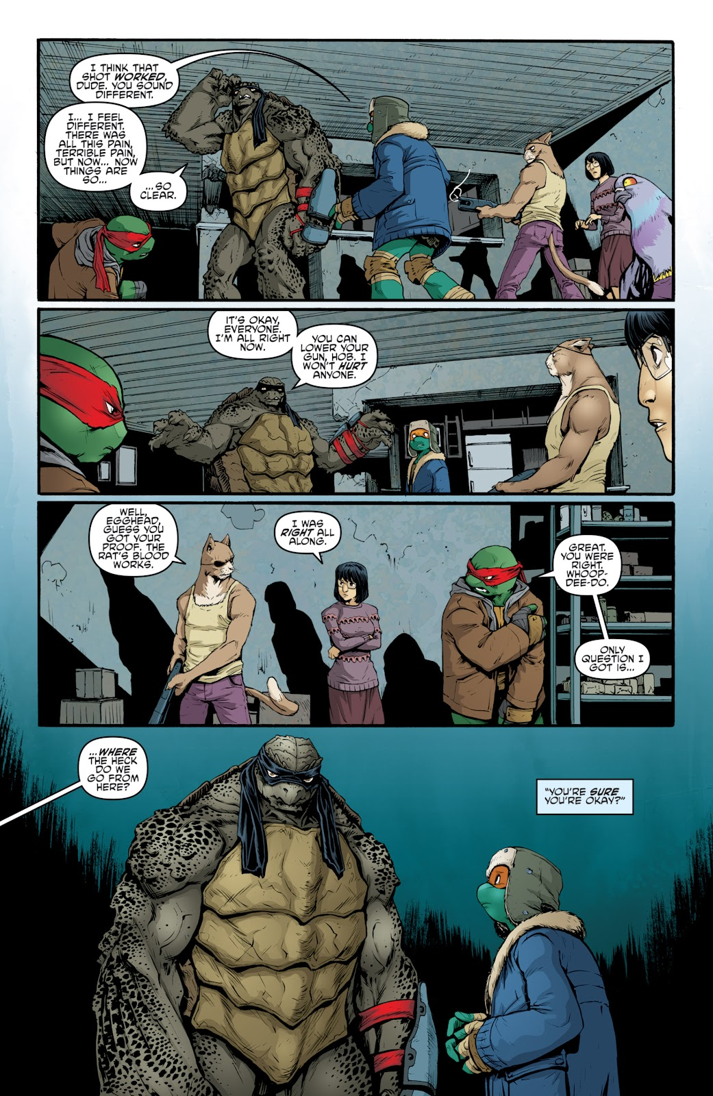 Read online Teenage Mutant Ninja Turtles: The IDW Collection comic -  Issue # TPB 4 (Part 3) - 75