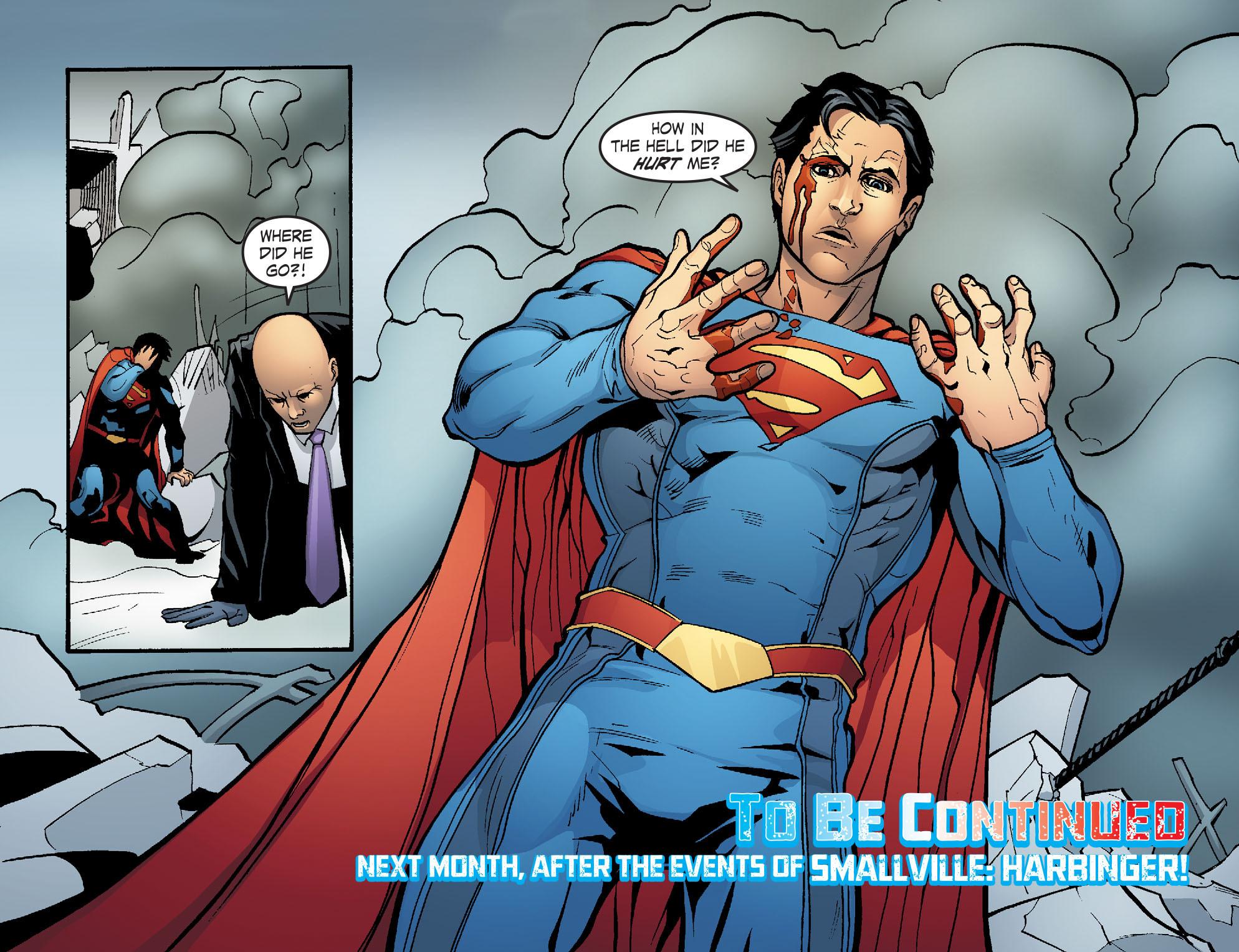Read online Smallville: Alien comic -  Issue #6 - 22