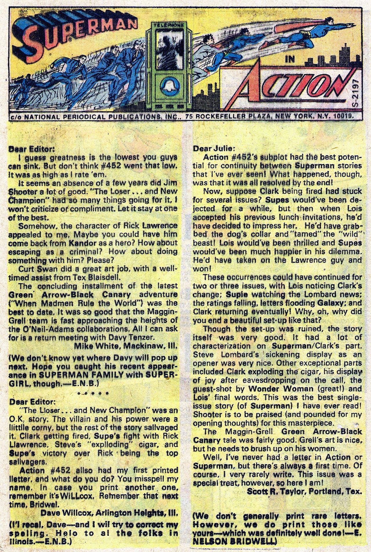 Action Comics (1938) 456 Page 11