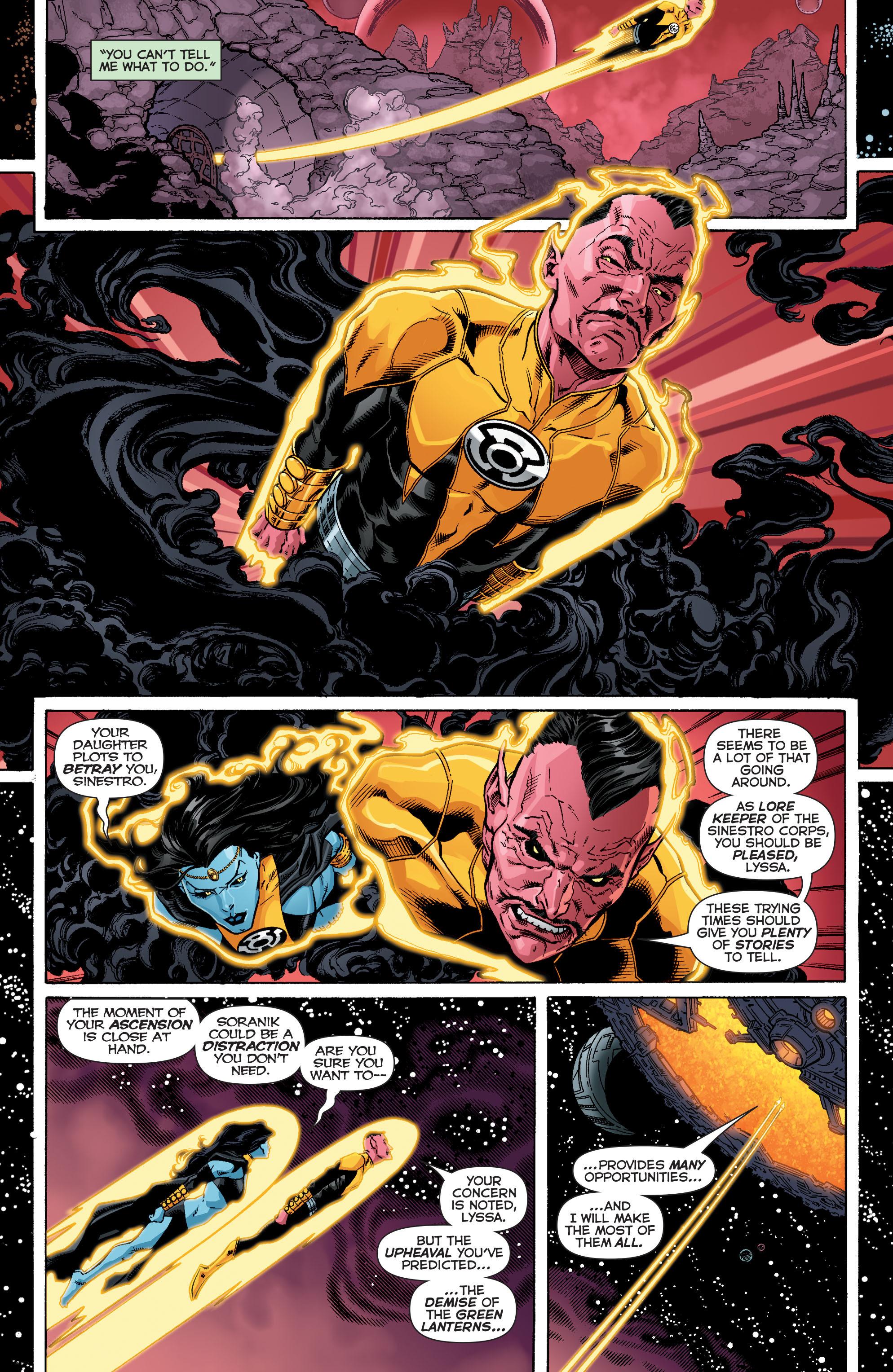 Read online Sinestro comic -  Issue #12 - 7