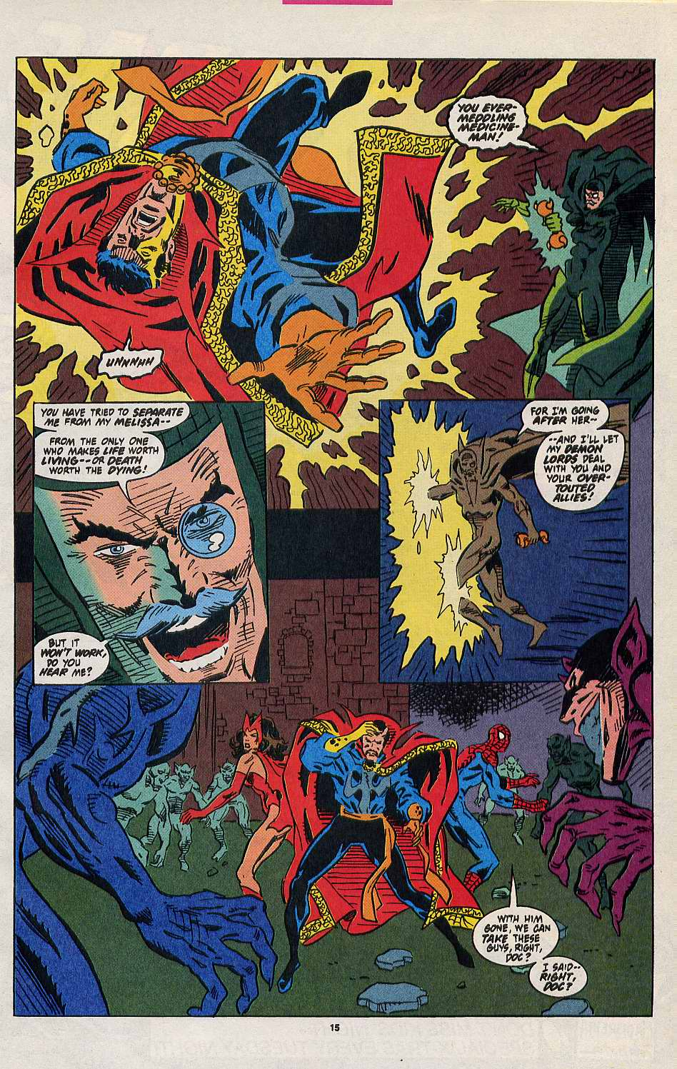 Read online Secret Defenders comic -  Issue #8 - 12