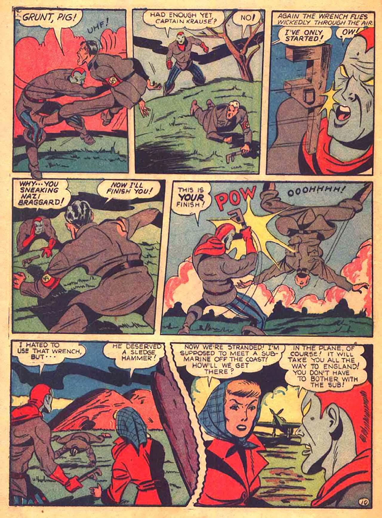 Read online All-Winners Comics comic -  Issue #9 - 49