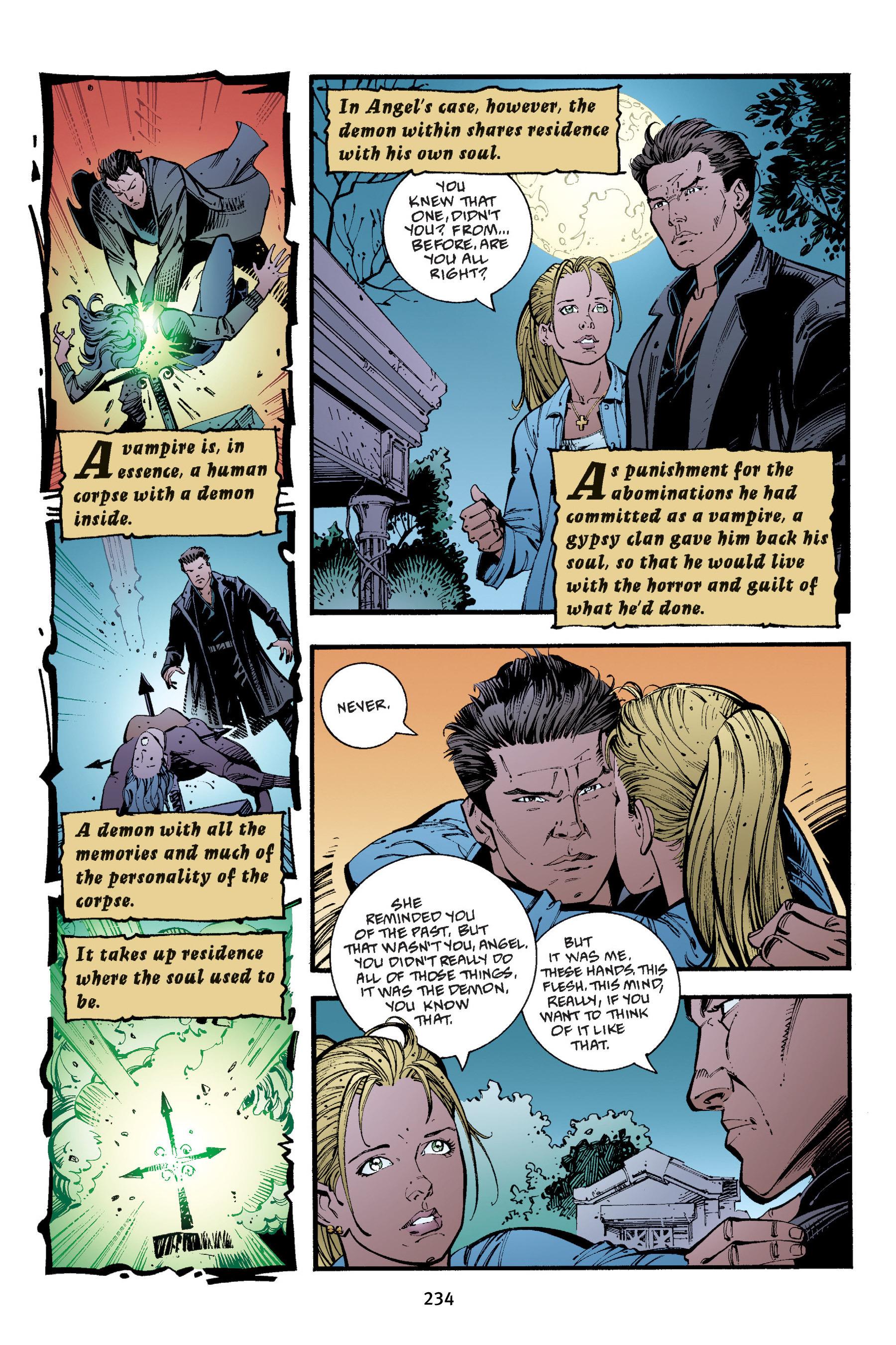 Read online Buffy the Vampire Slayer: Omnibus comic -  Issue # TPB 4 - 232