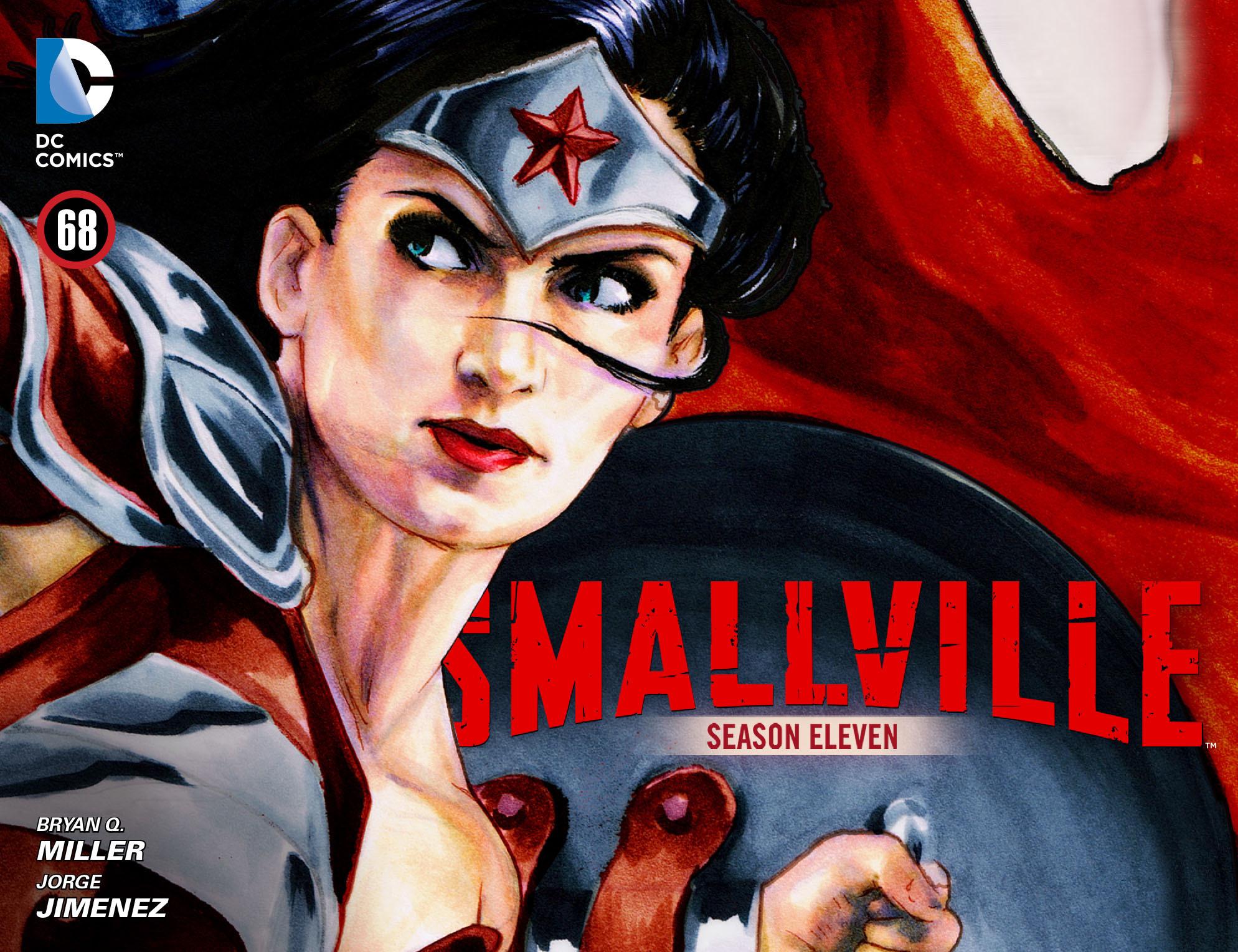 Read online Smallville: Season 11 comic -  Issue #68 - 1