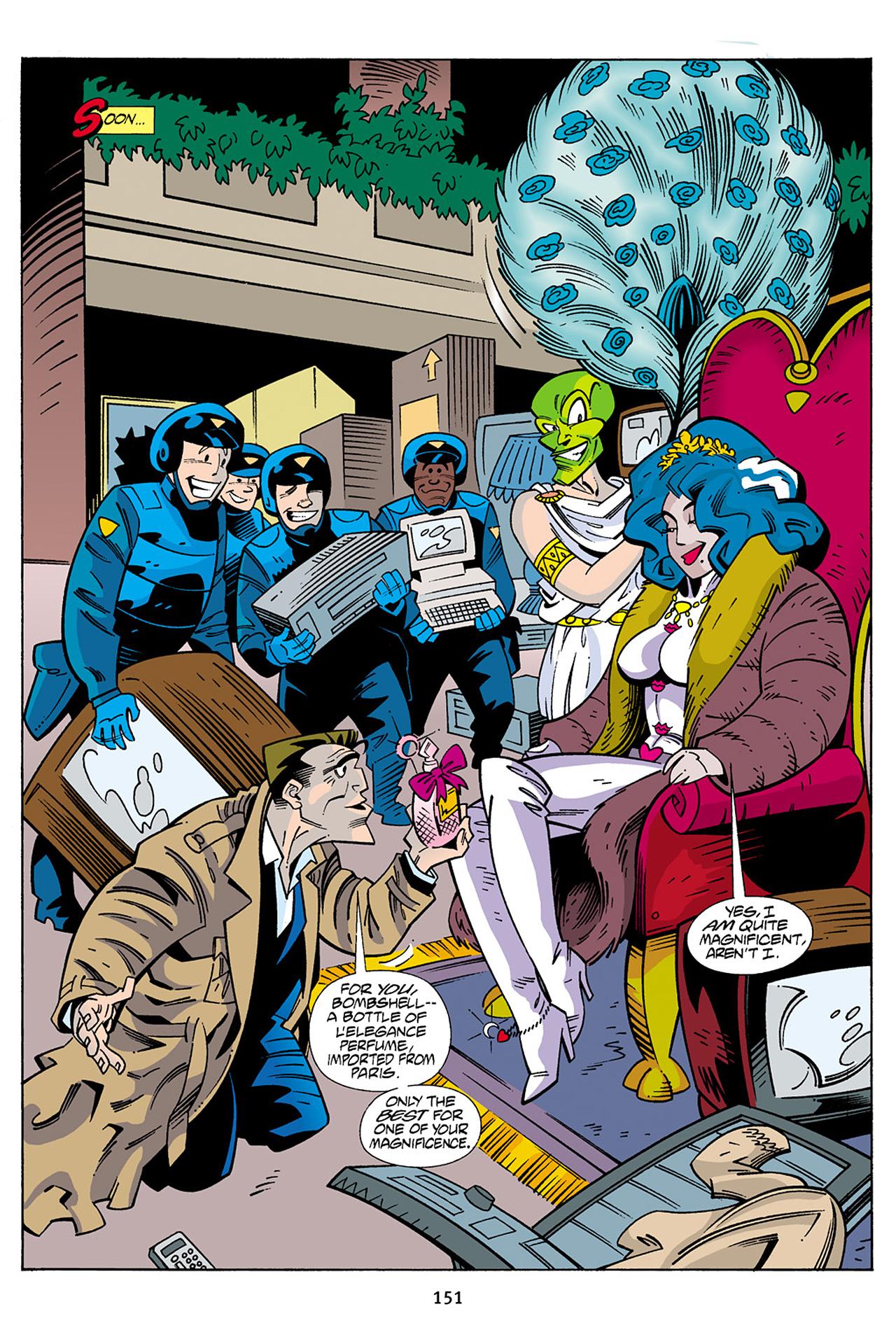 Read online Adventures Of The Mask Omnibus comic -  Issue #Adventures Of The Mask Omnibus Full - 151