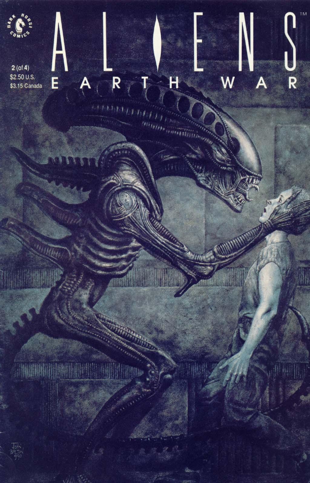 Read online Aliens: Earth War comic -  Issue #2 - 1