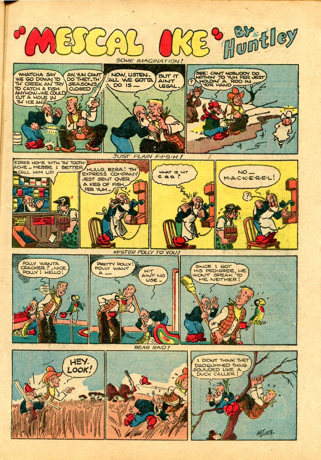 Read online Famous Funnies comic -  Issue #102 - 17