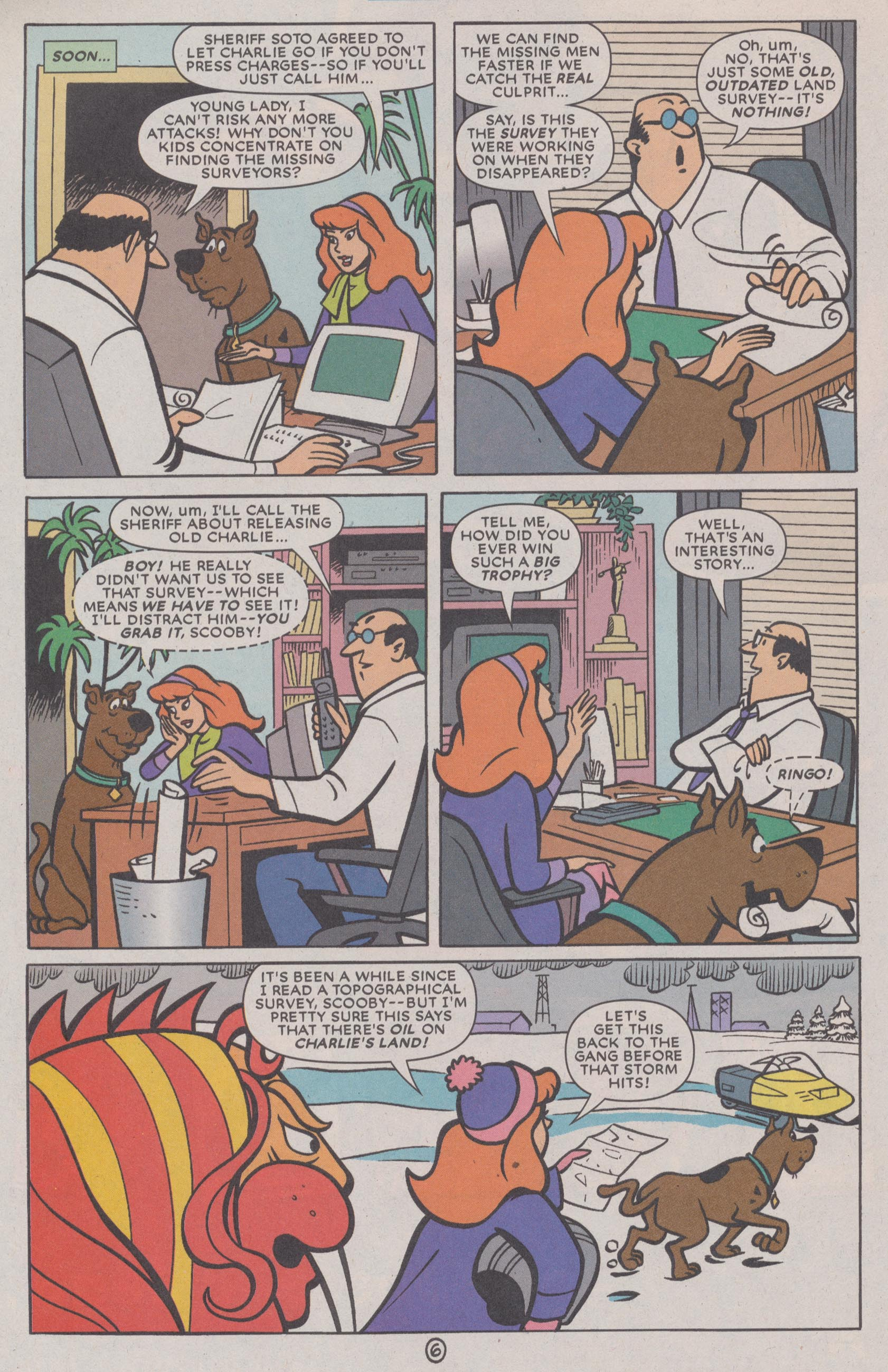 Read online Scooby-Doo (1997) comic -  Issue #72 - 33