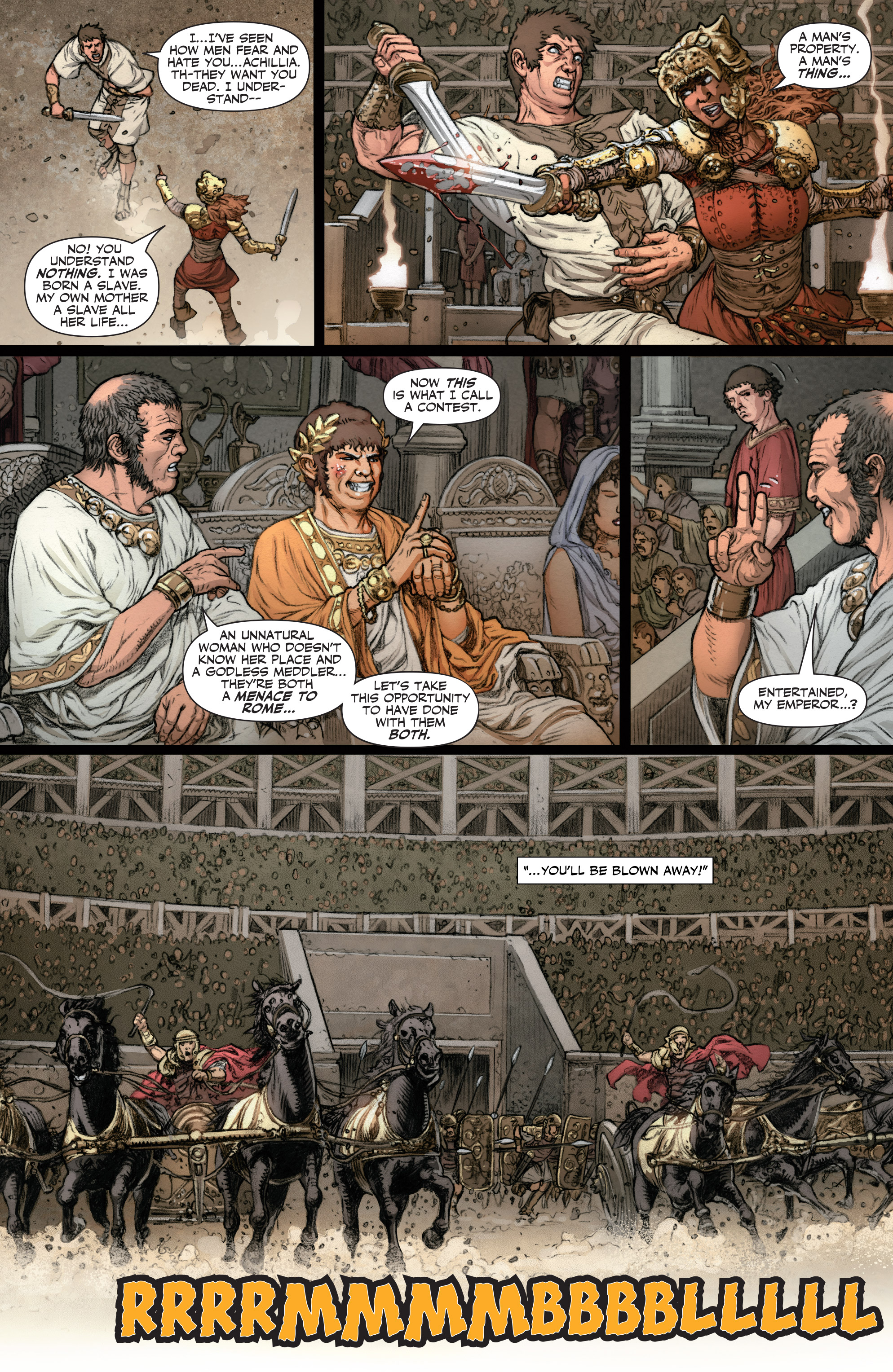Read online Britannia: We Who Are About To Die comic -  Issue #2 - 21