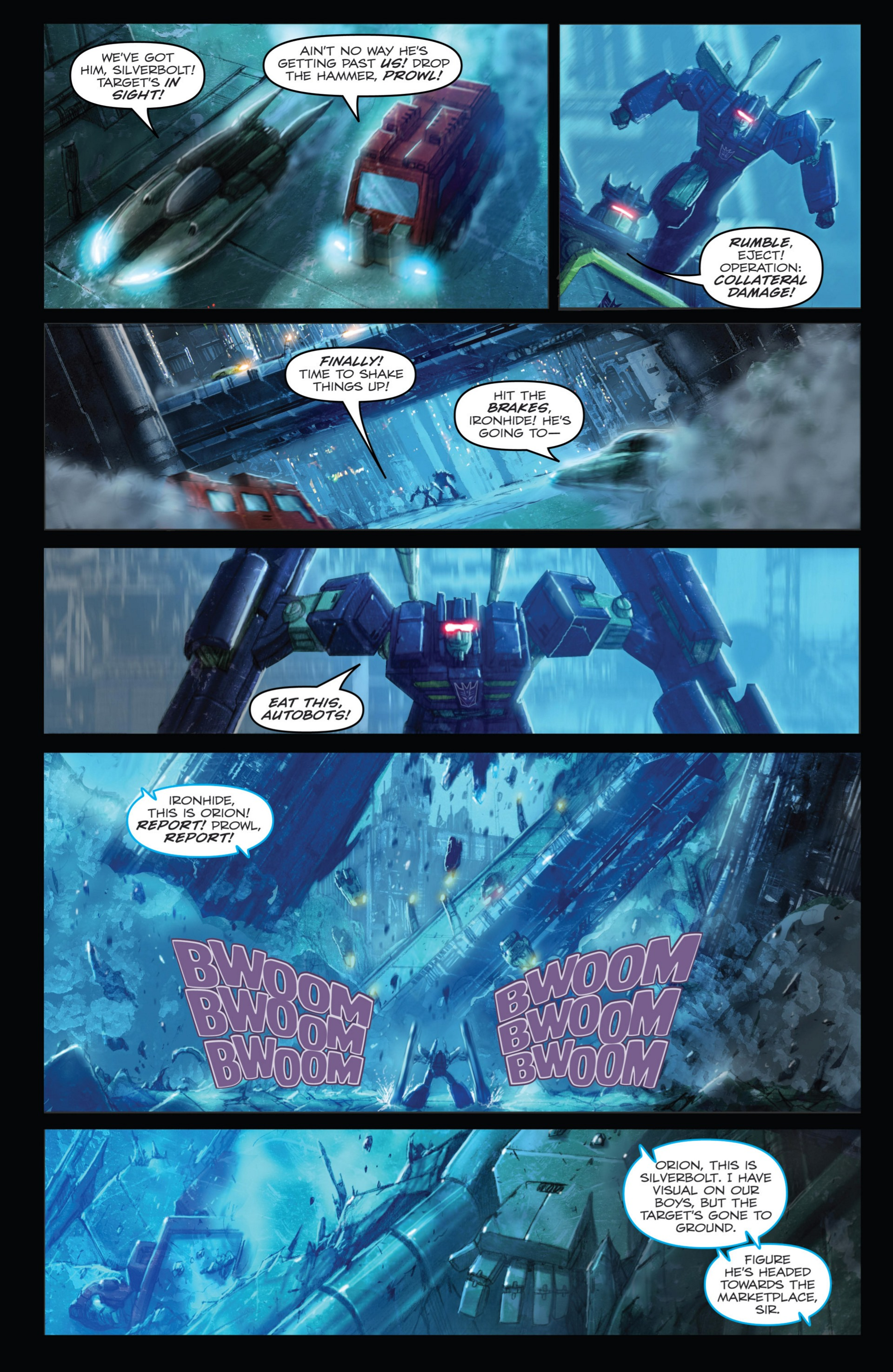 Read online Transformers: Autocracy comic -  Issue # Full - 28