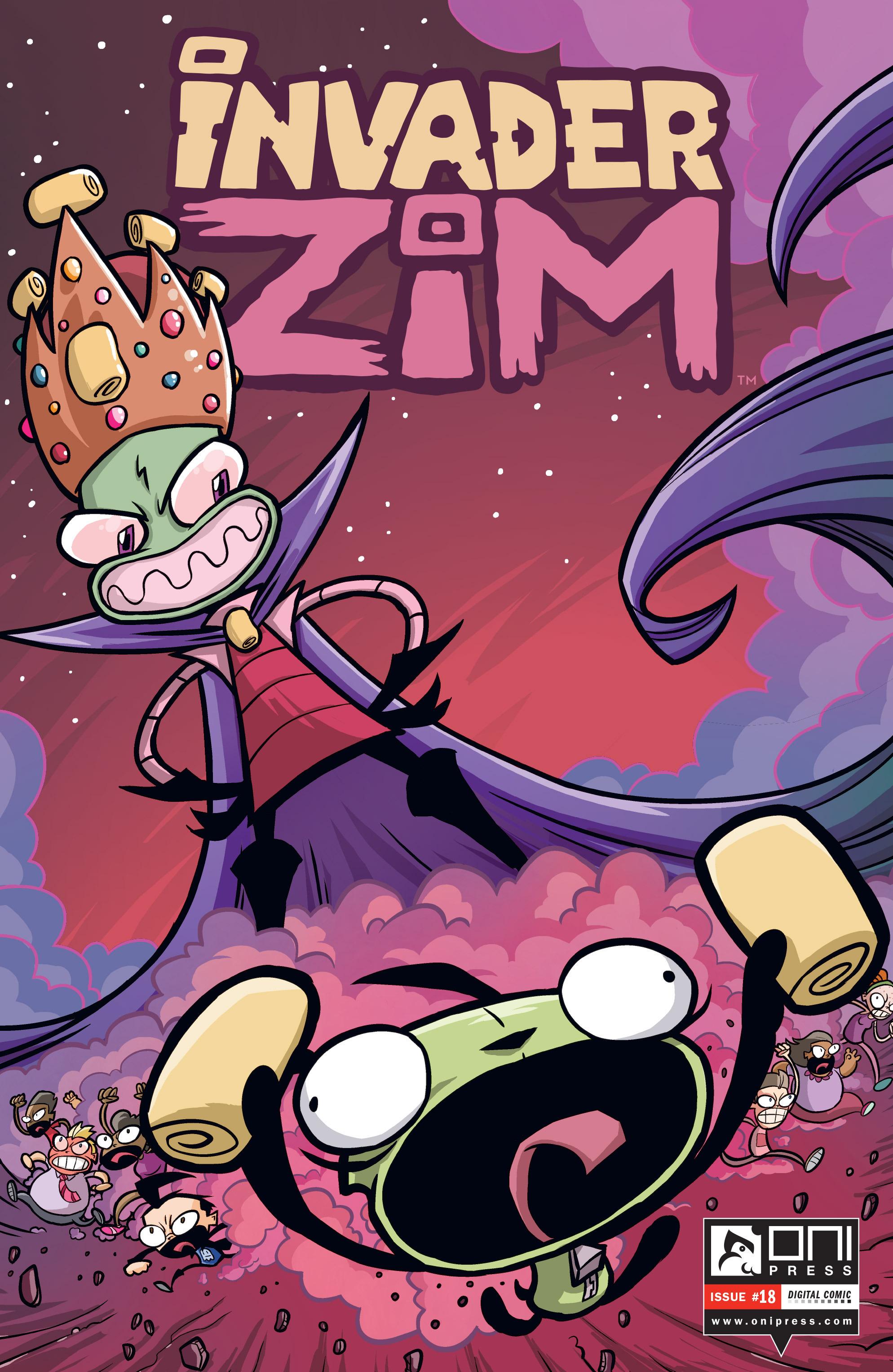 Invader Zim 18 Page 1
