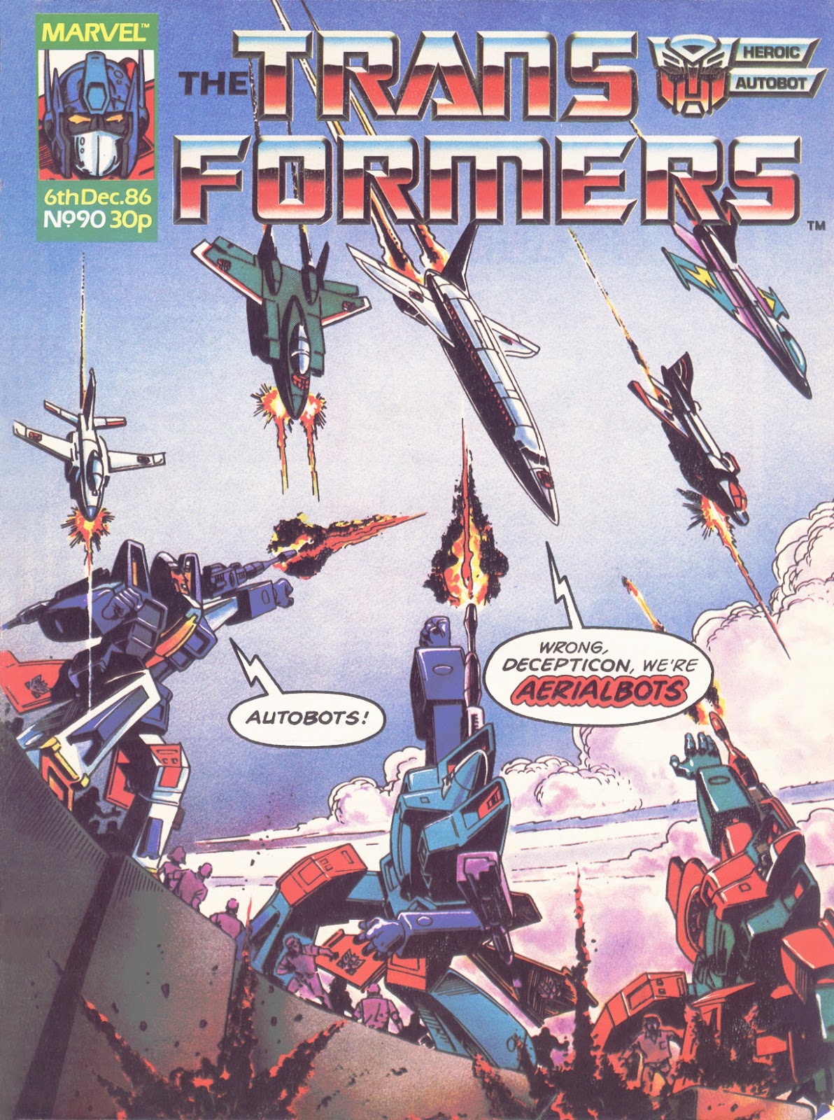 The Transformers (UK) 90 Page 1