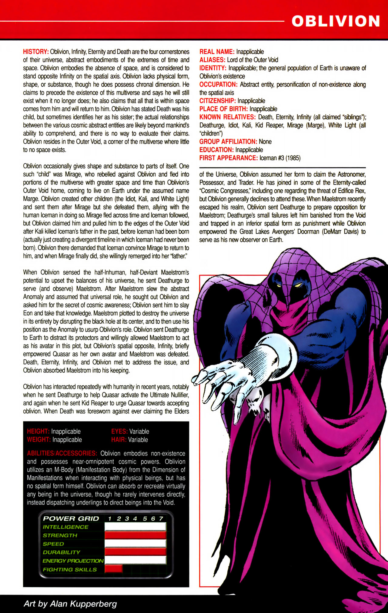 Read online All-New Official Handbook of the Marvel Universe A to Z comic -  Issue #8 - 25