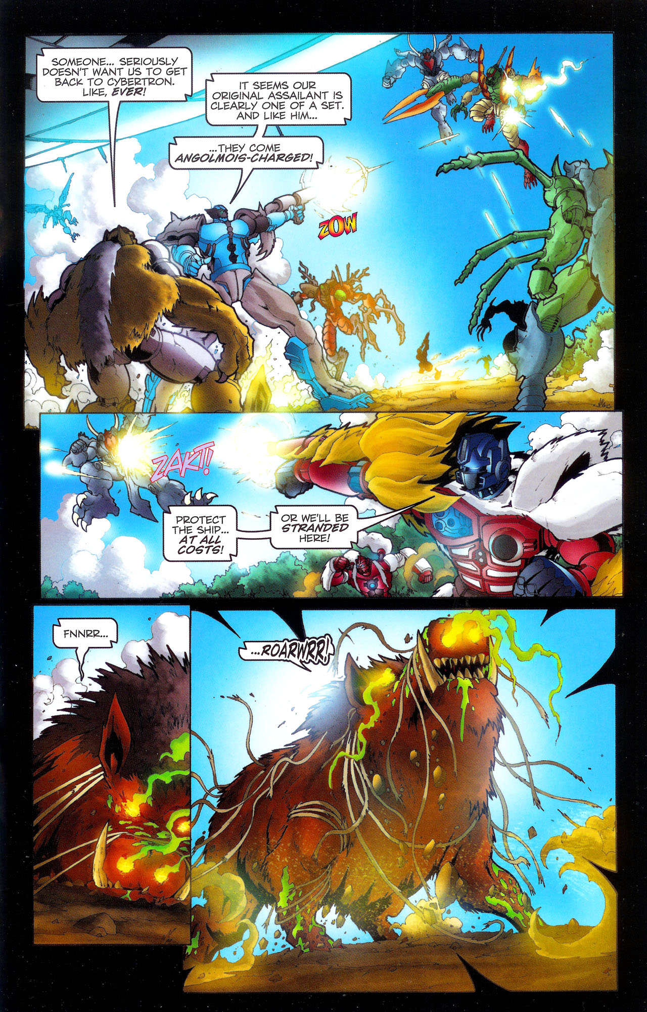 Read online Transformers: Beast Wars: The Ascending comic -  Issue #3 - 20