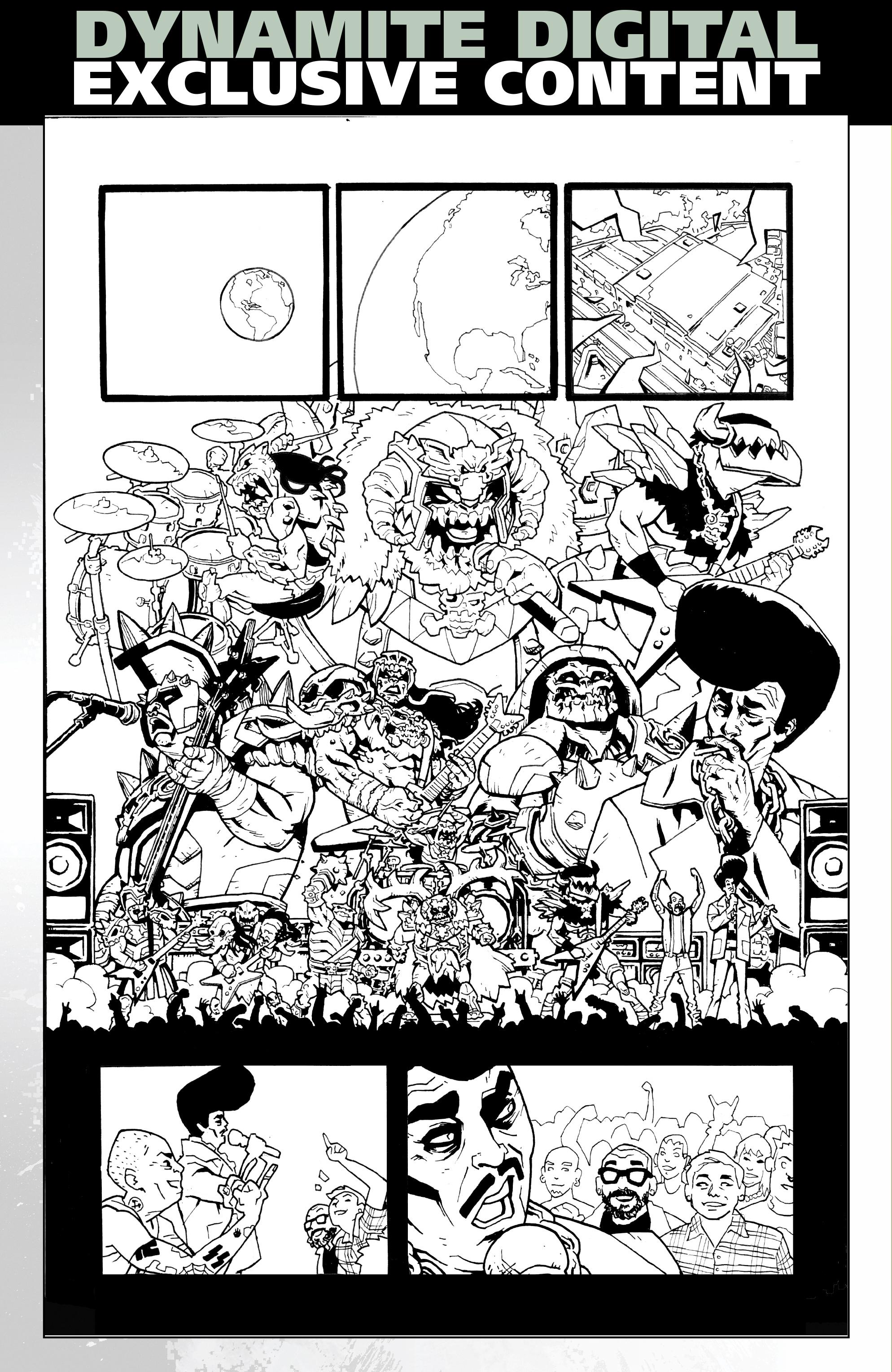 Read online Gwar: Orgasmageddon comic -  Issue #1 - 29