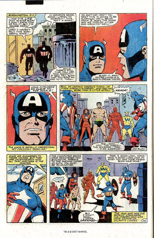 Comic Captain America (1968) issue 6