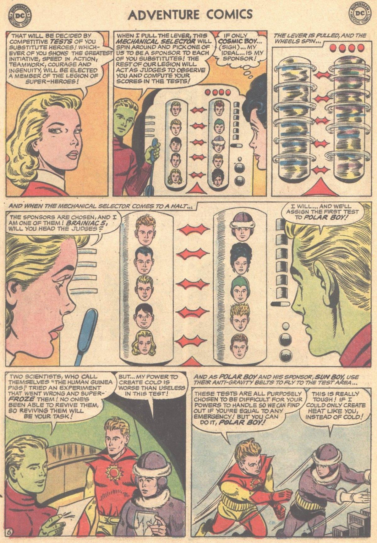 Read online Adventure Comics (1938) comic -  Issue #315 - 8