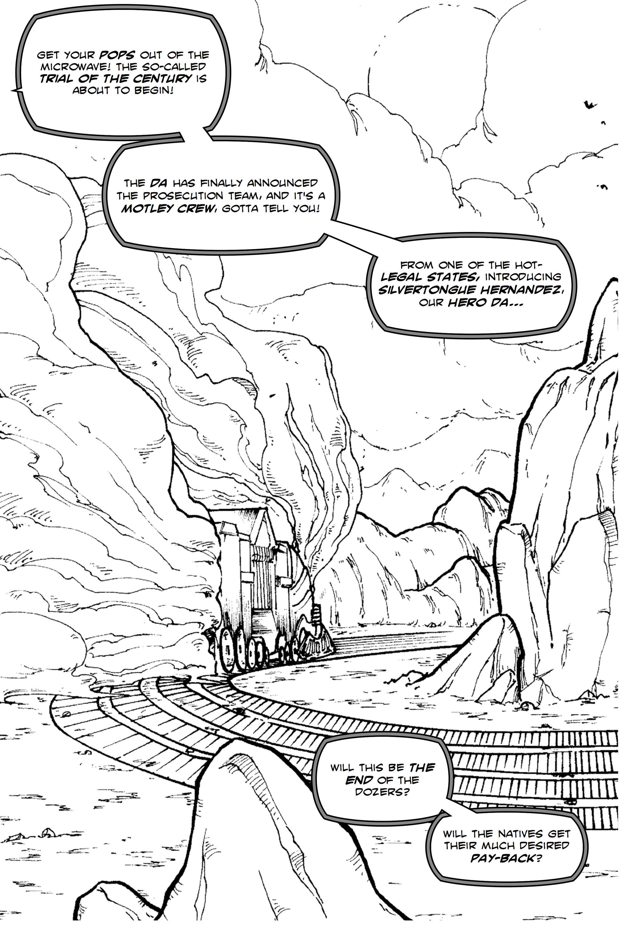 Read online Silvertongue 30xx Vol. 1 comic -  Issue # Full - 37
