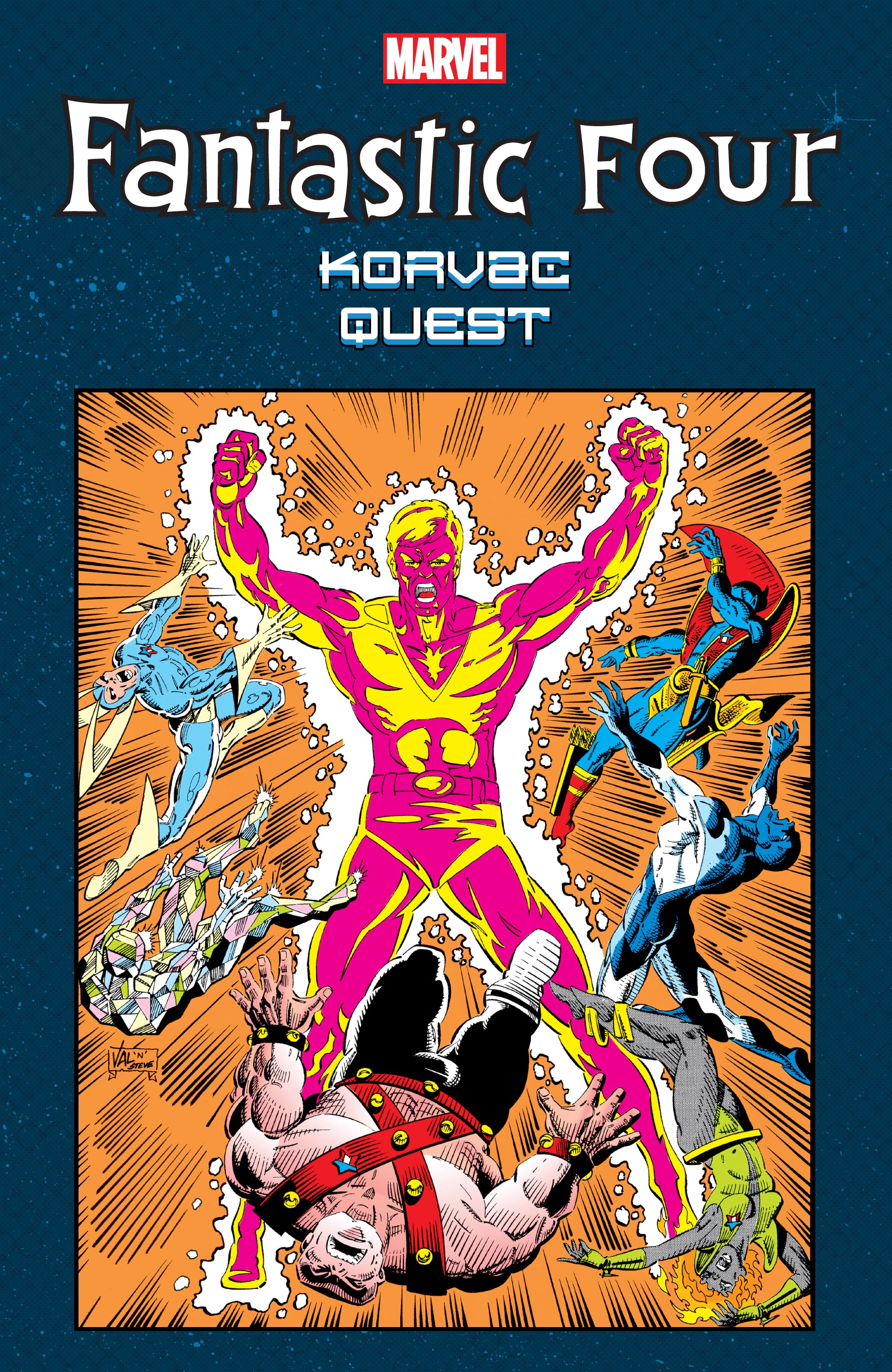Fantastic Four: Korvac Quest issue TPB - Page 1