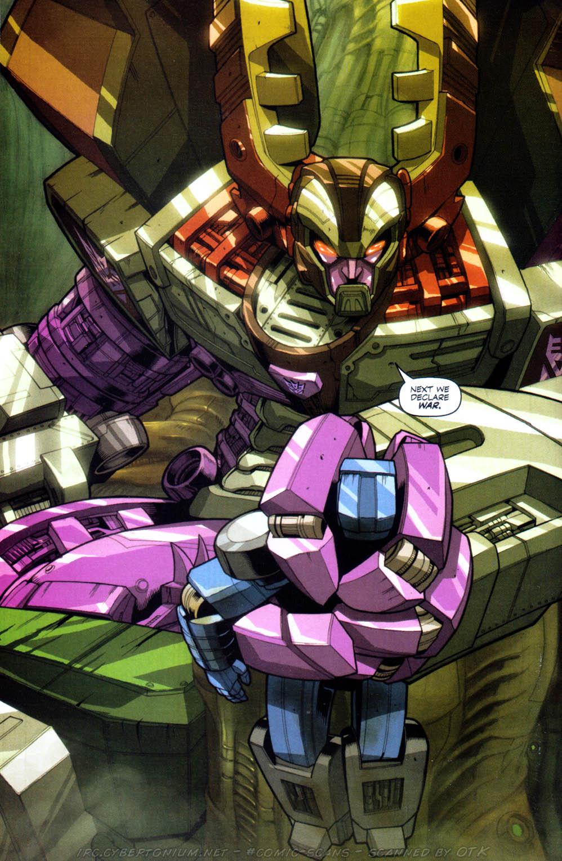 Read online Transformers Armada comic -  Issue #1 - 26