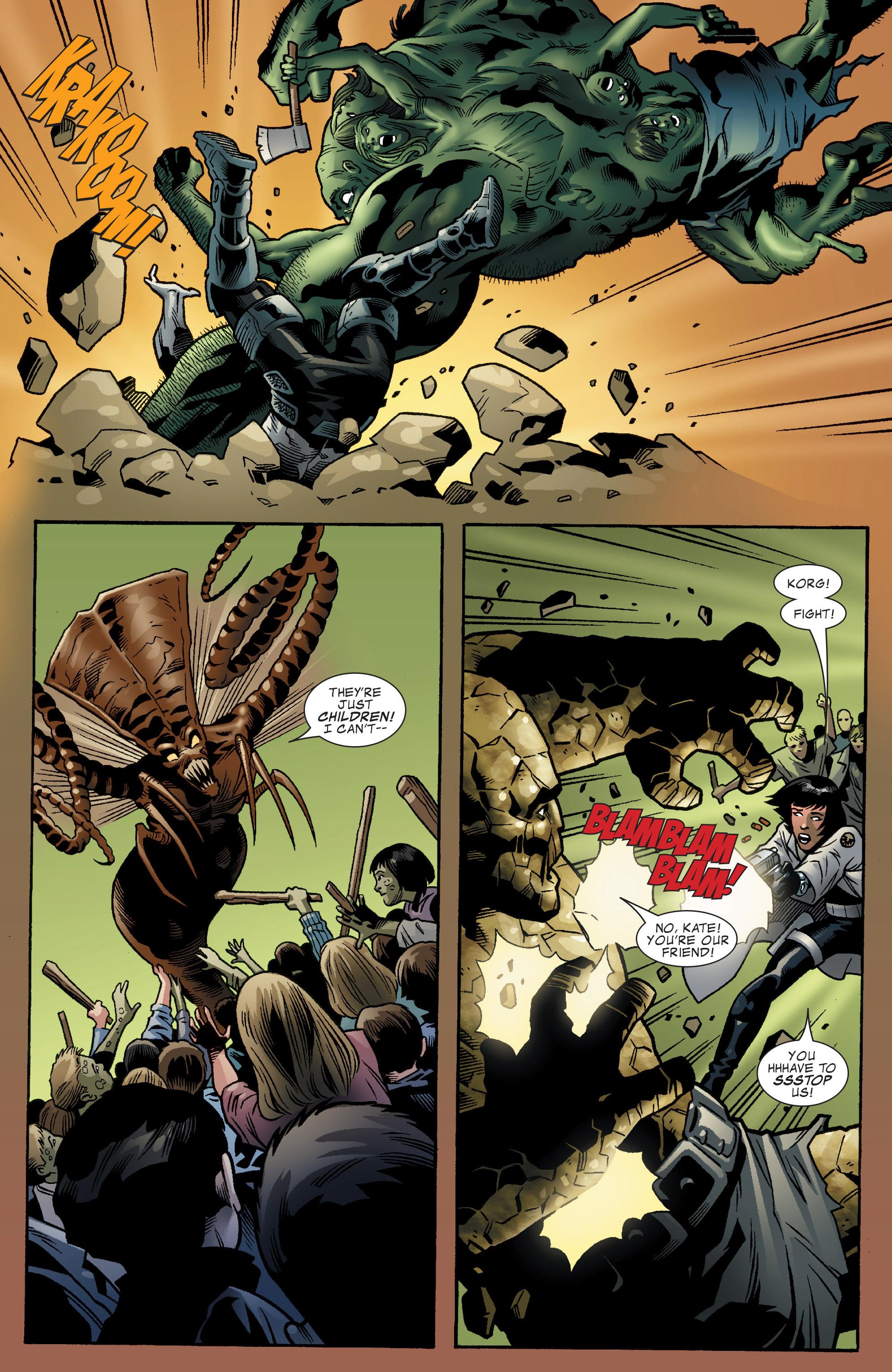 Read online World War Hulk Aftersmash: Warbound, Vol. 1 comic -  Issue #5 - 12