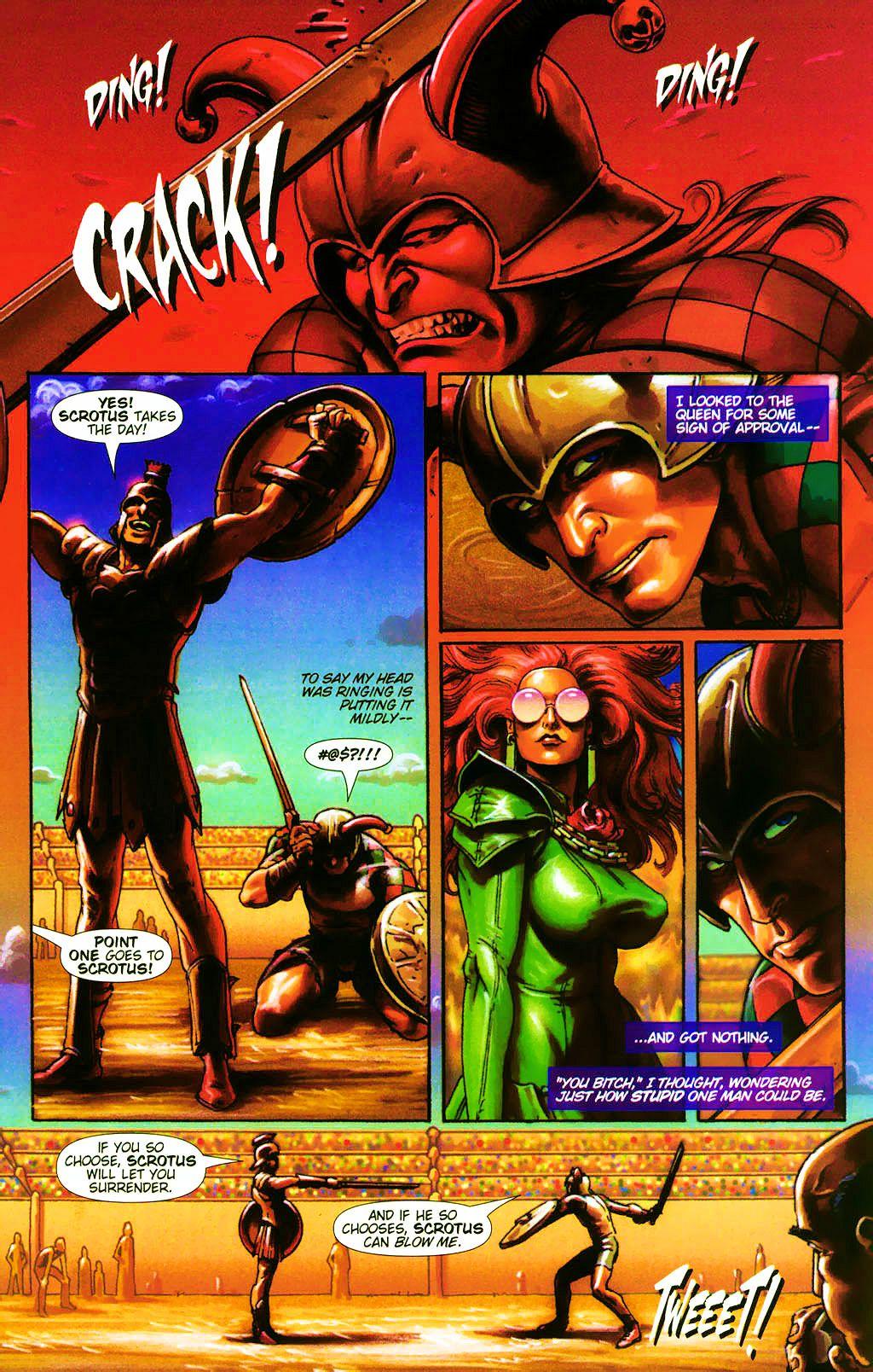 Read online Dawn: Three Tiers comic -  Issue #4 - 13