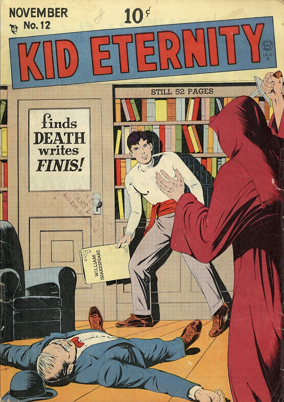 Kid Eternity (1946) issue 12 - Page 1