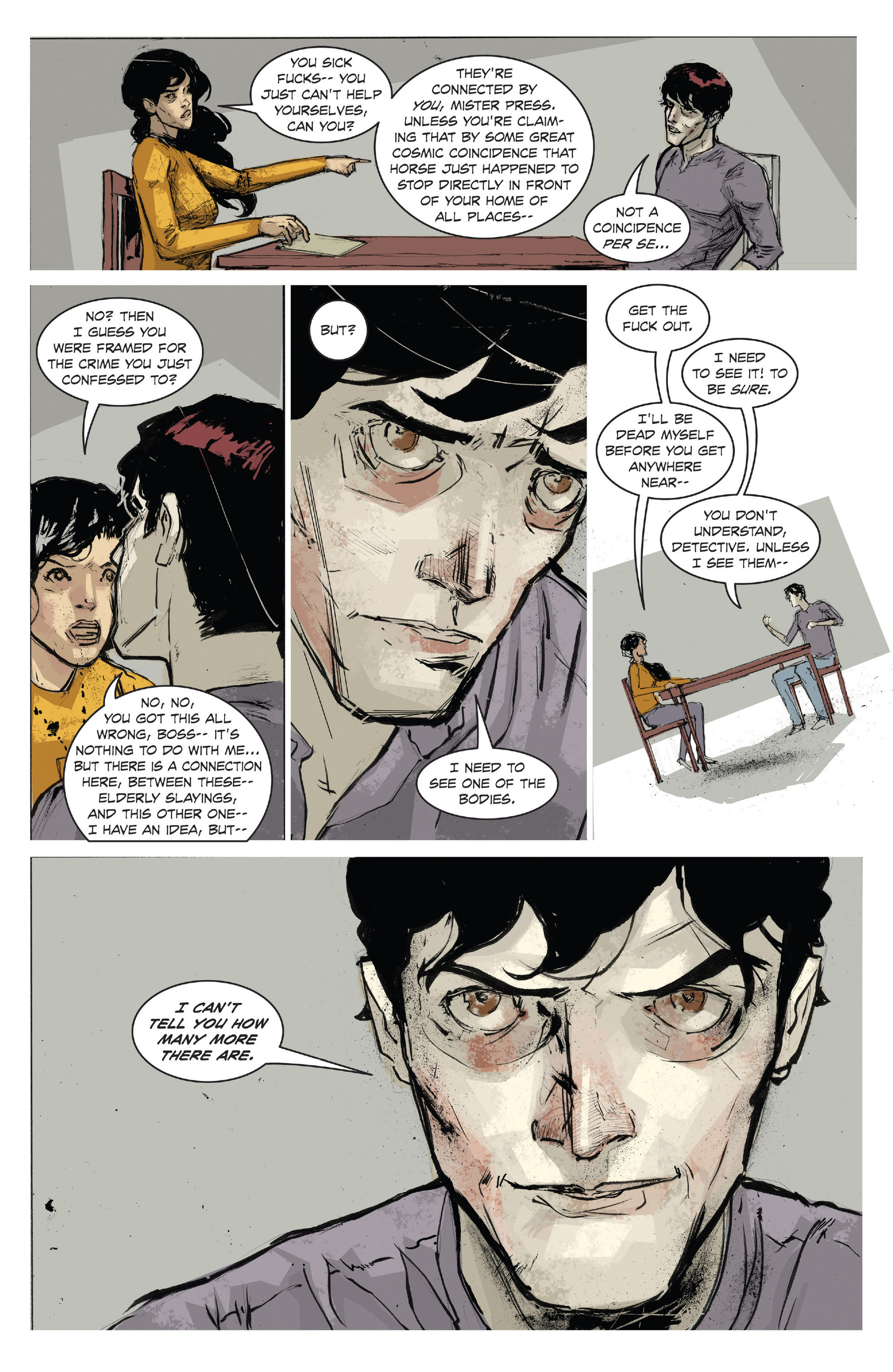 Bedlam Issue 3 | Viewcomic reading comics online for free 2019
