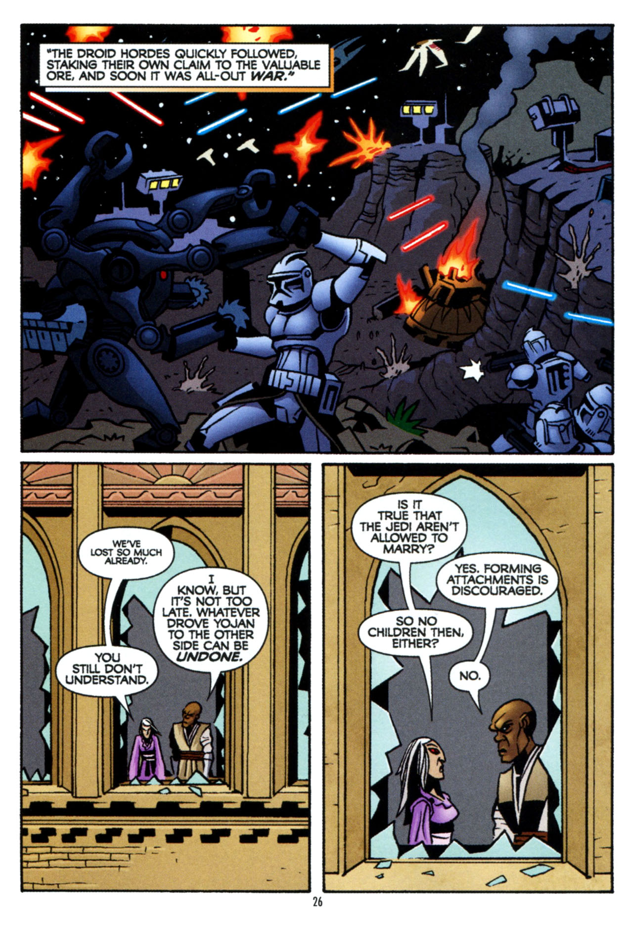 Read online Star Wars: The Clone Wars - The Colossus of Destiny comic -  Issue # Full - 27