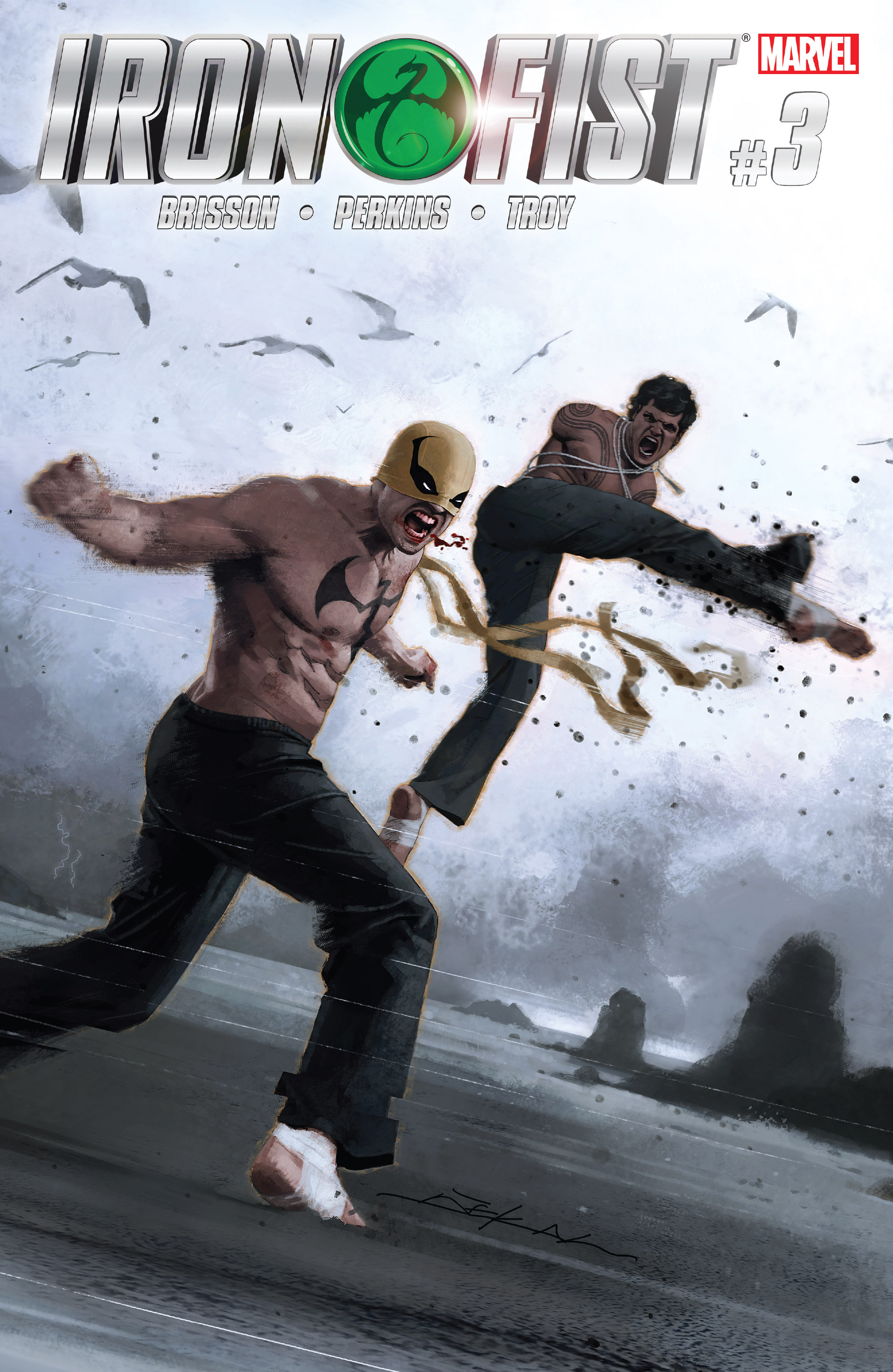 Read online Iron Fist (2017) comic -  Issue #3 - 1