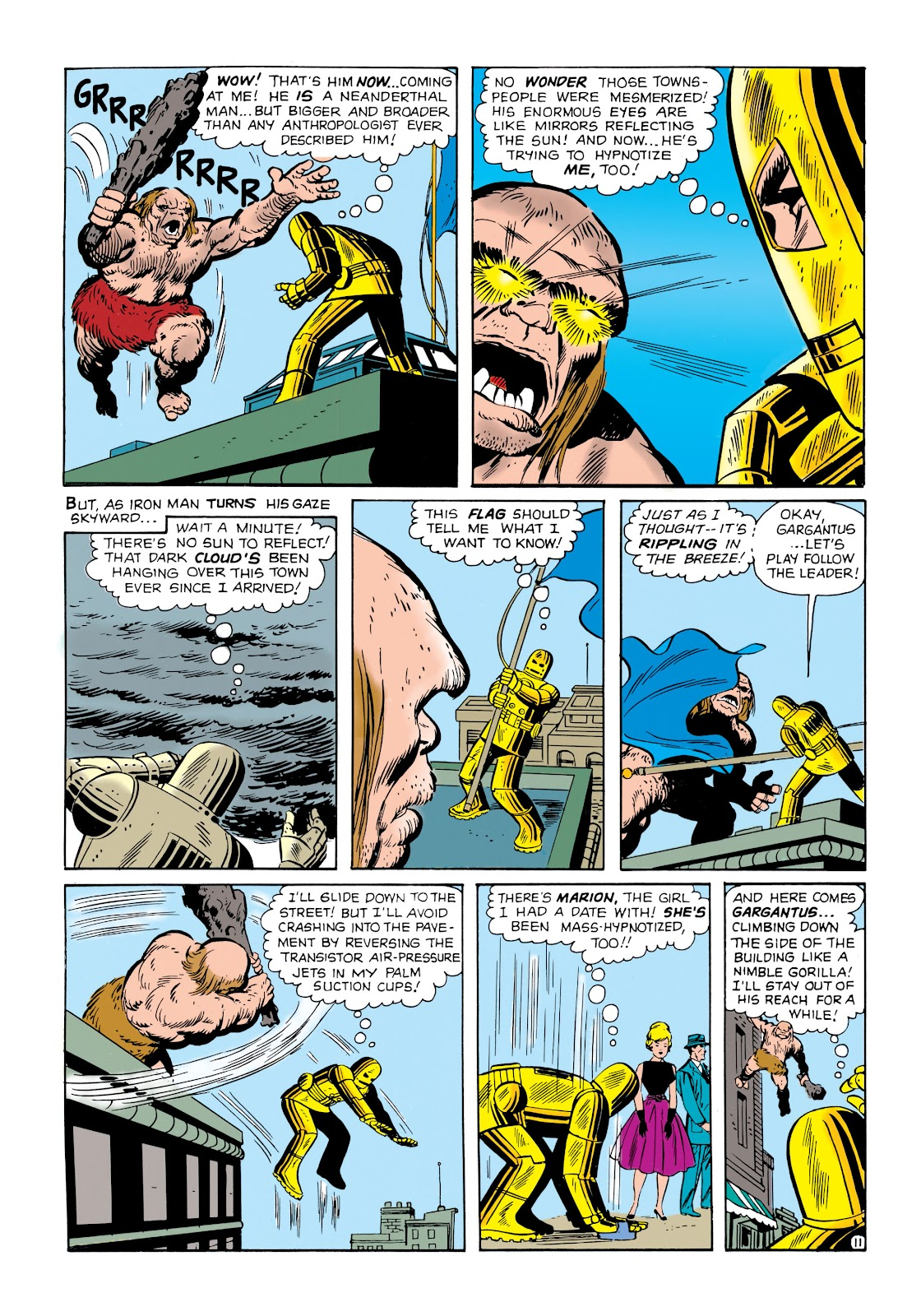 Read online Marvel Masterworks: The Invincible Iron Man comic -  Issue # TPB 1 (Part 1) - 28
