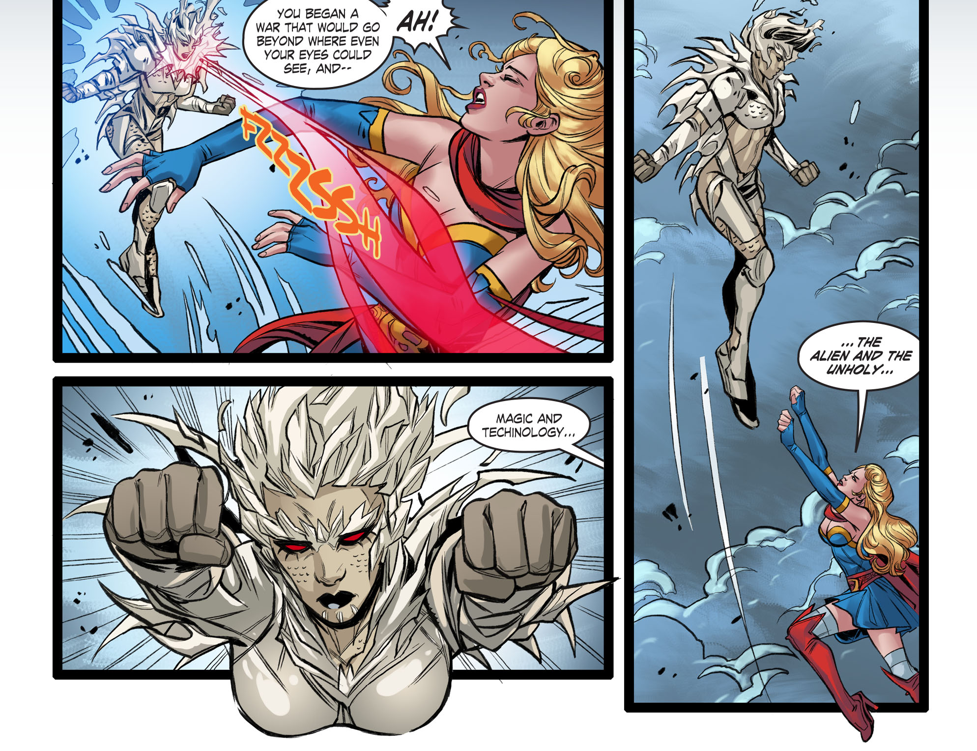 Read online DC Comics: Bombshells comic -  Issue #99 - 5