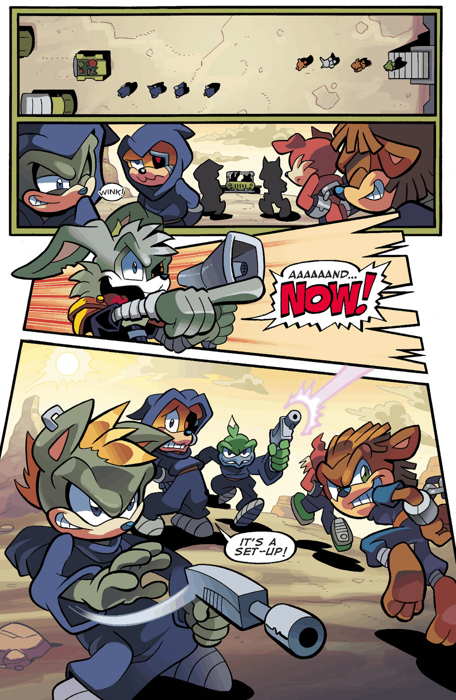 Read online Sonic Universe comic -  Issue #49 - 7