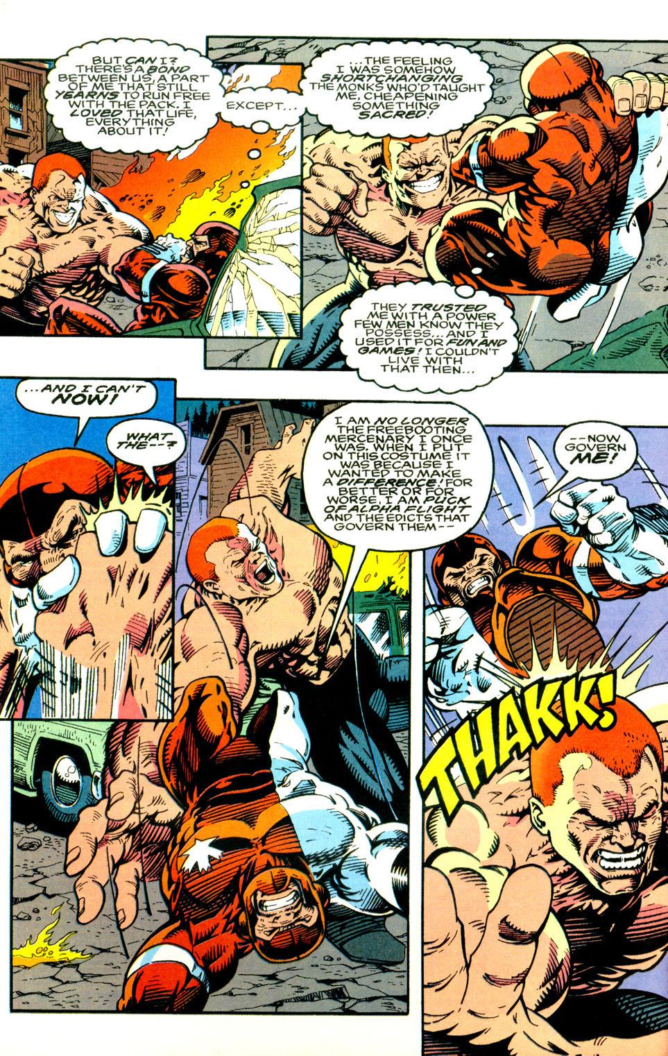 Read online Alpha Flight (1983) comic -  Issue #123 - 21