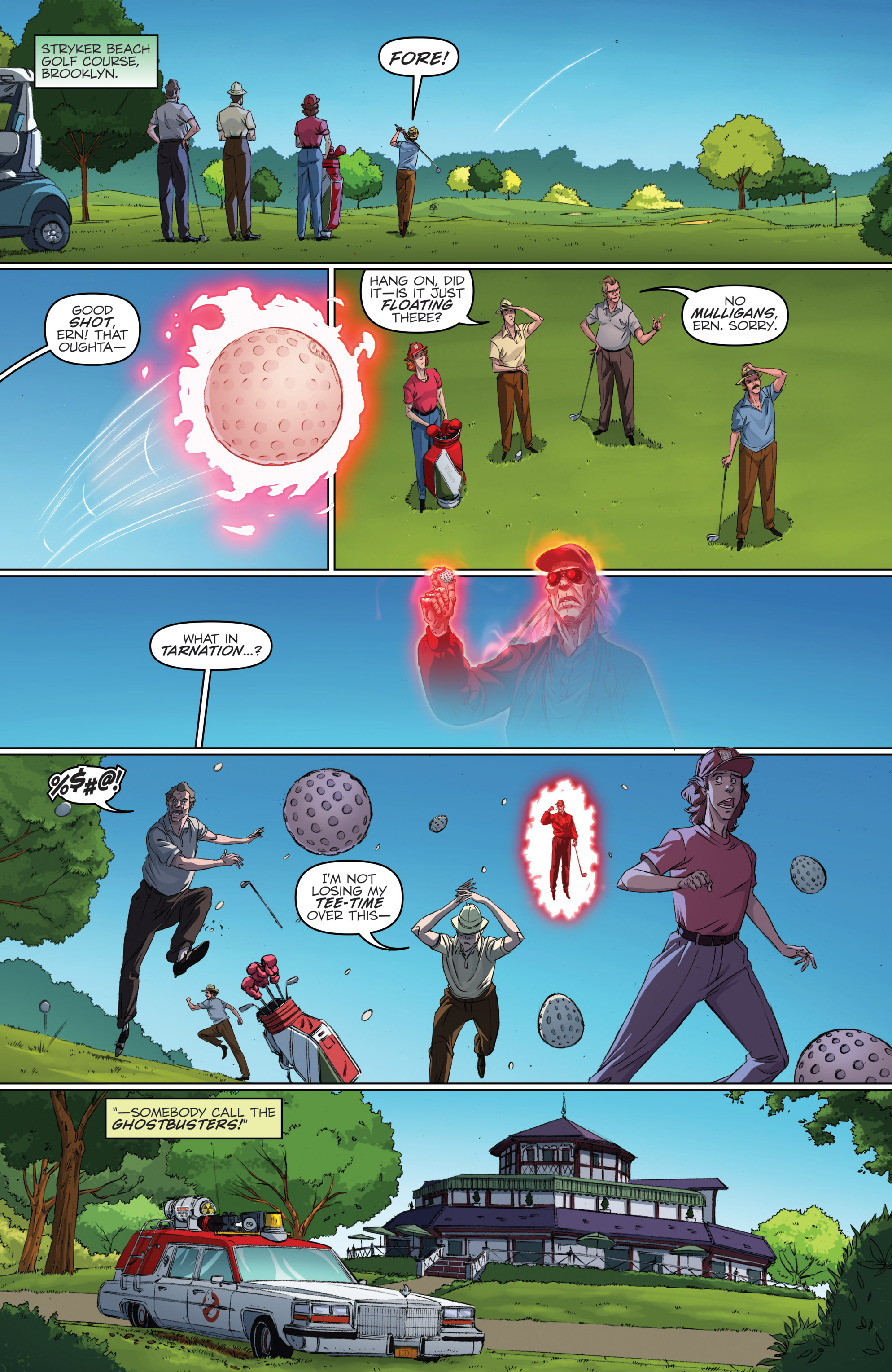 Read online Ghostbusters 101 comic -  Issue #2 - 6