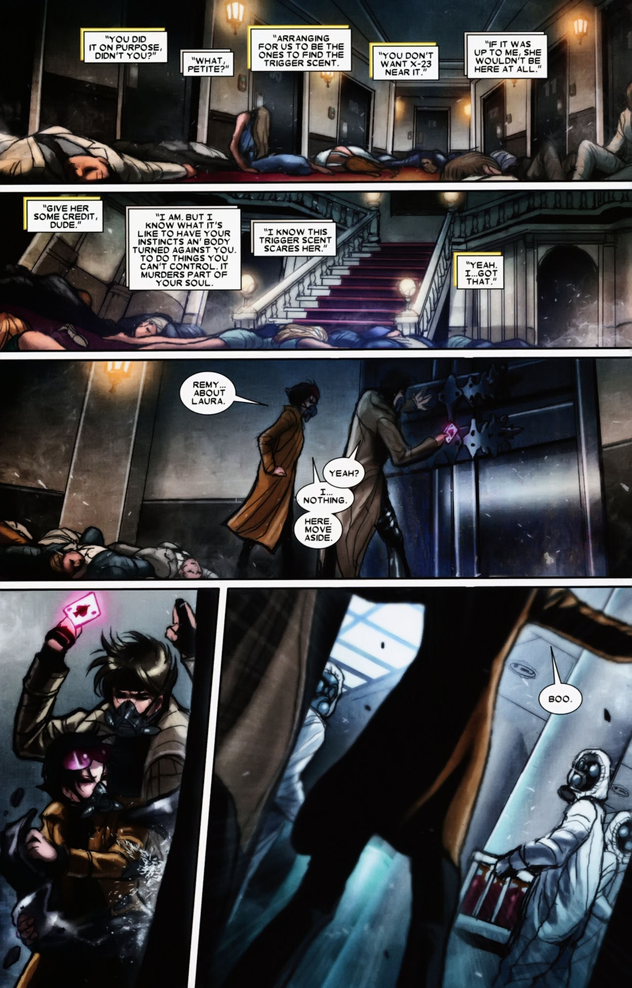 Read online X-23 (2010) comic -  Issue #11 - 18