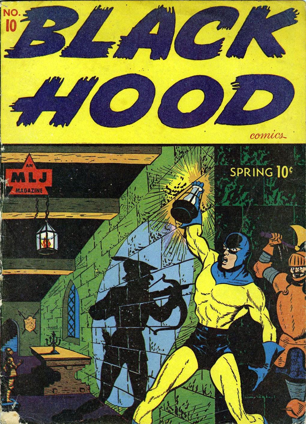 Black Hood Comics 10 Page 1