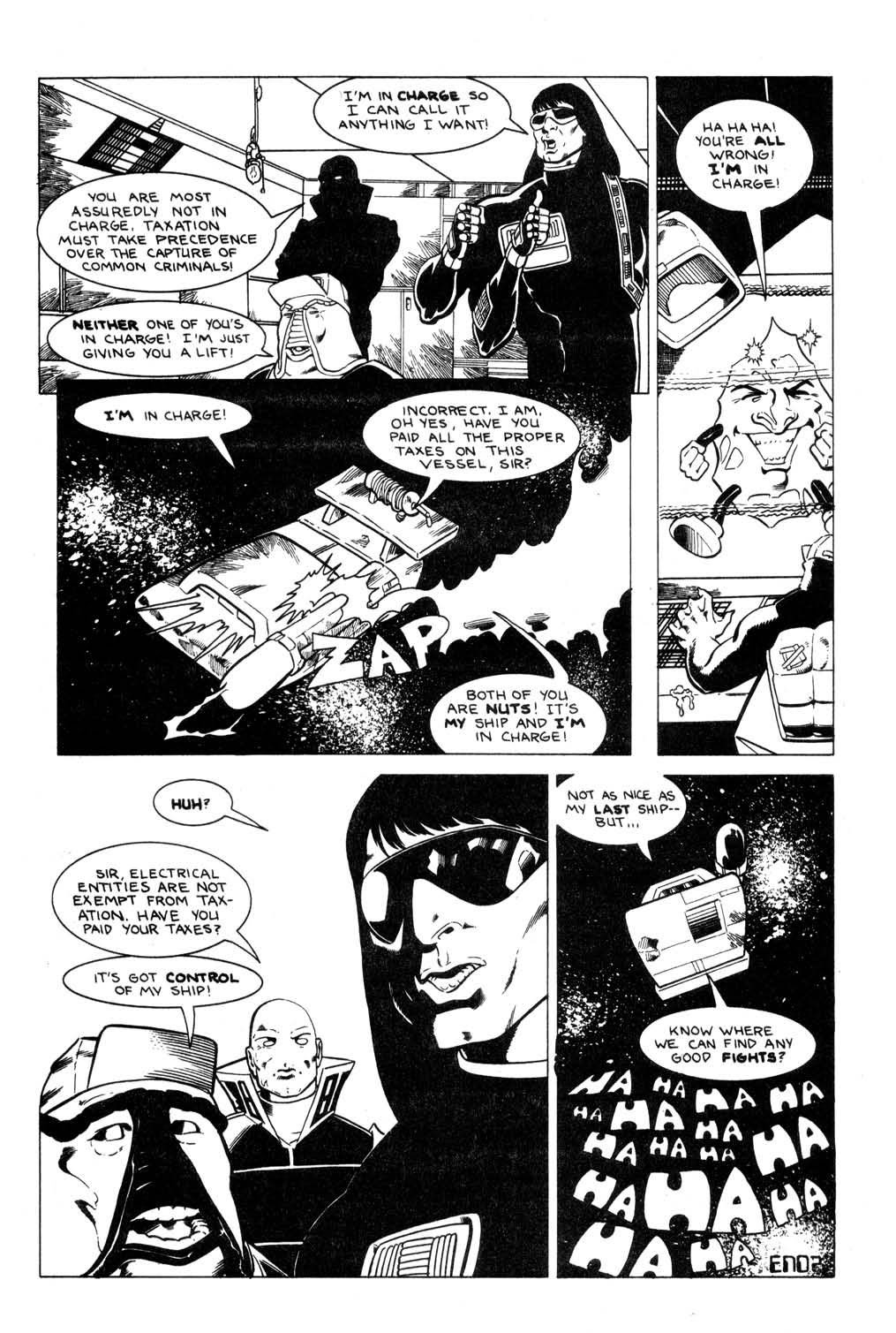 Aristocratic Xtraterrestrial Time-Traveling Thieves issue 7 - Page 25