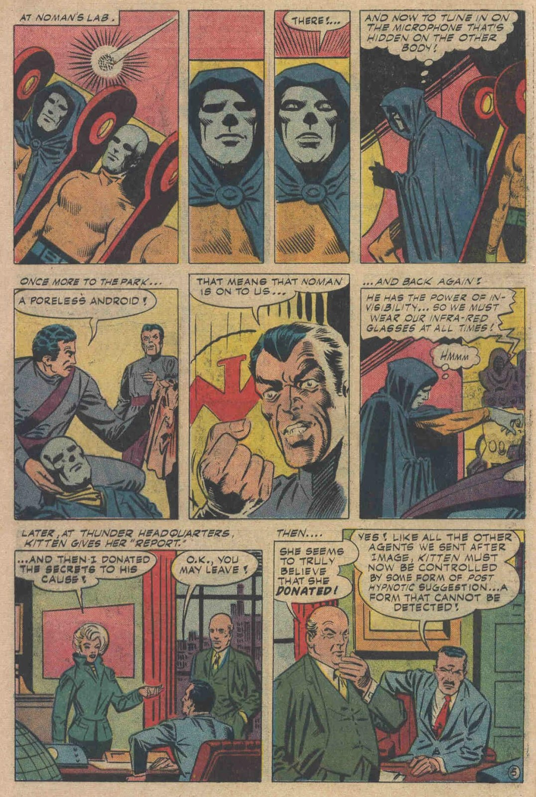 T.H.U.N.D.E.R. Agents (1965) issue 6 - Page 60