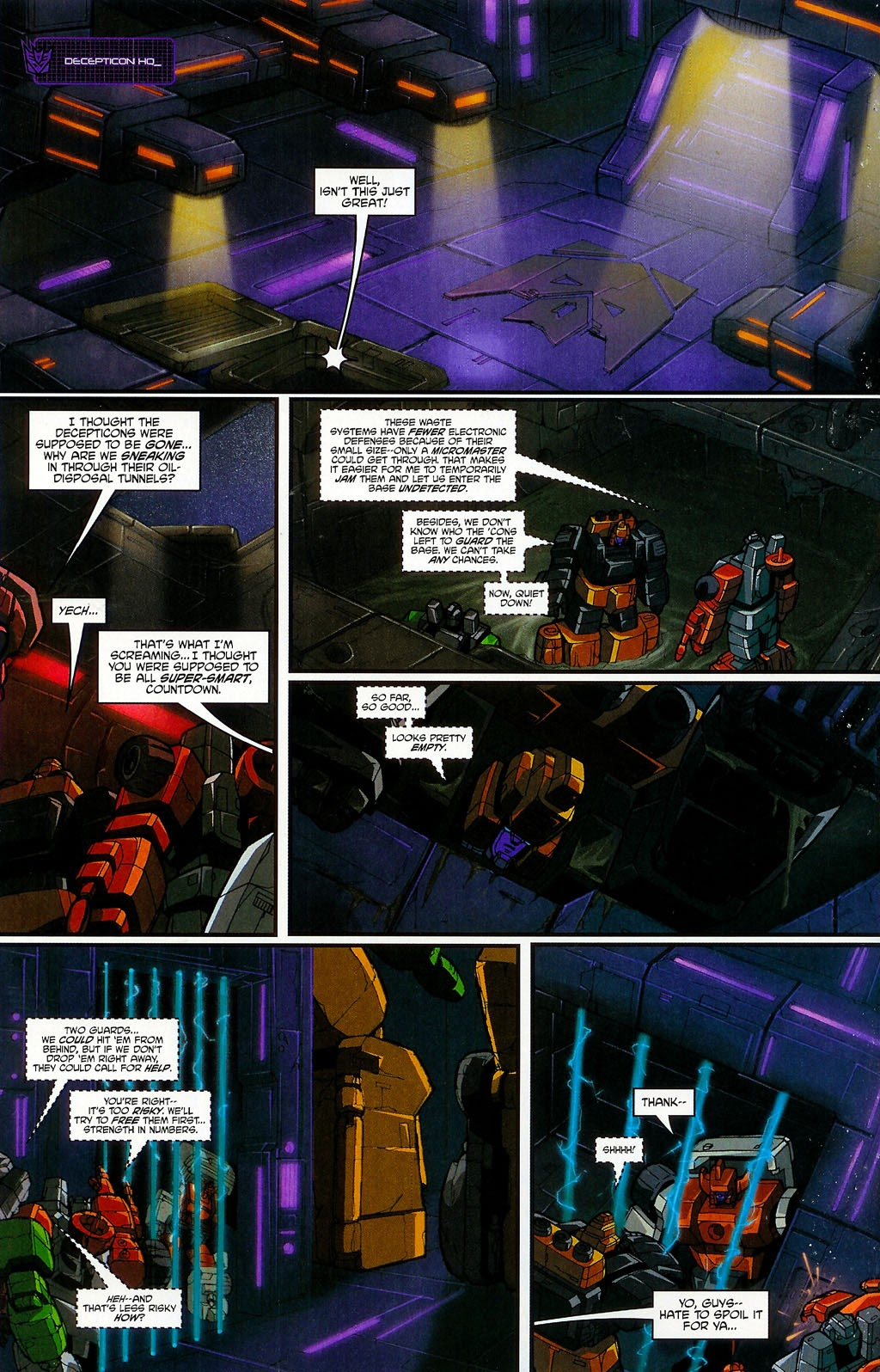 Read online Transformers: Micromasters comic -  Issue #4 - 12