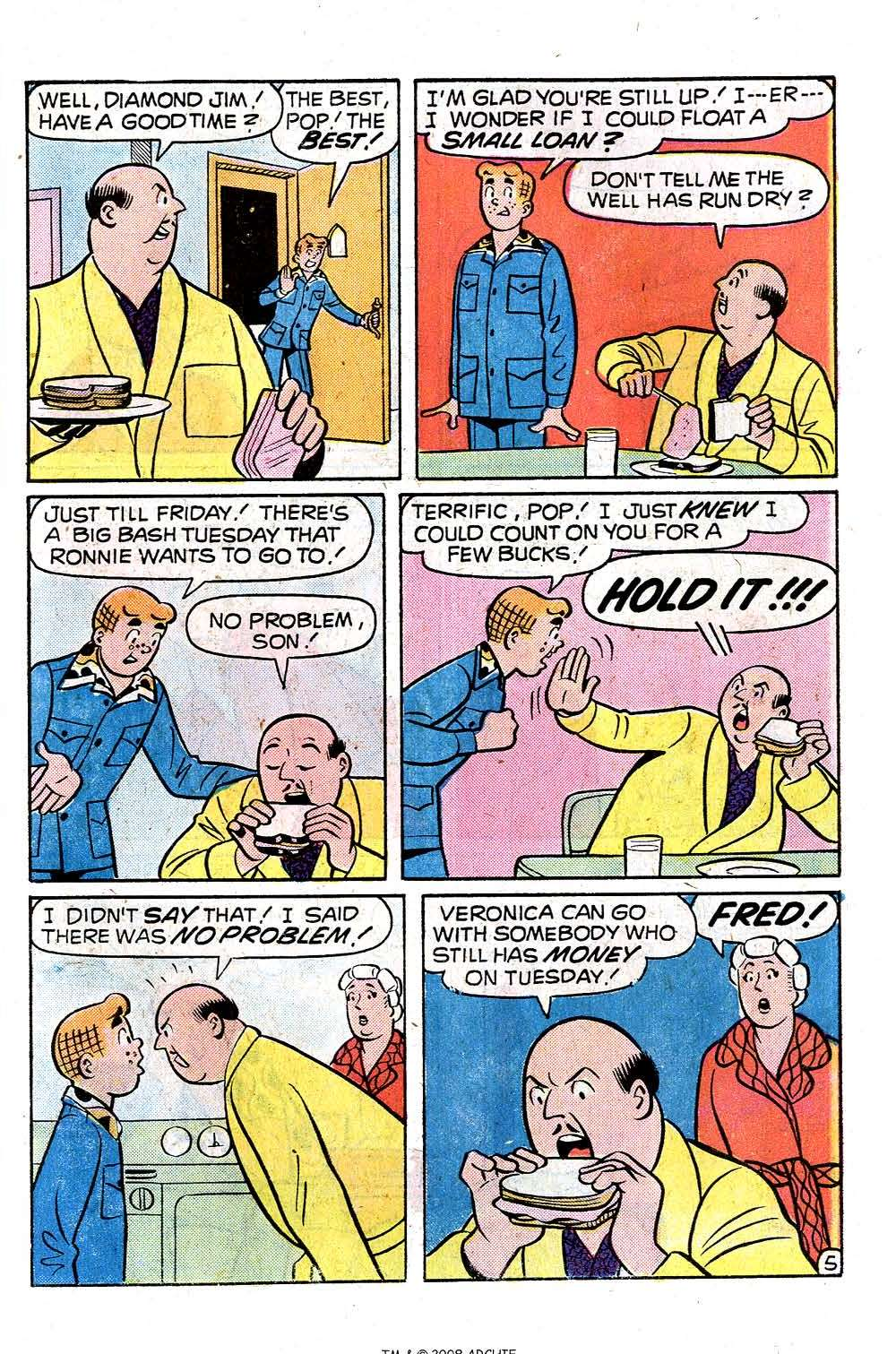 Read online Archie (1960) comic -  Issue #251 - 7