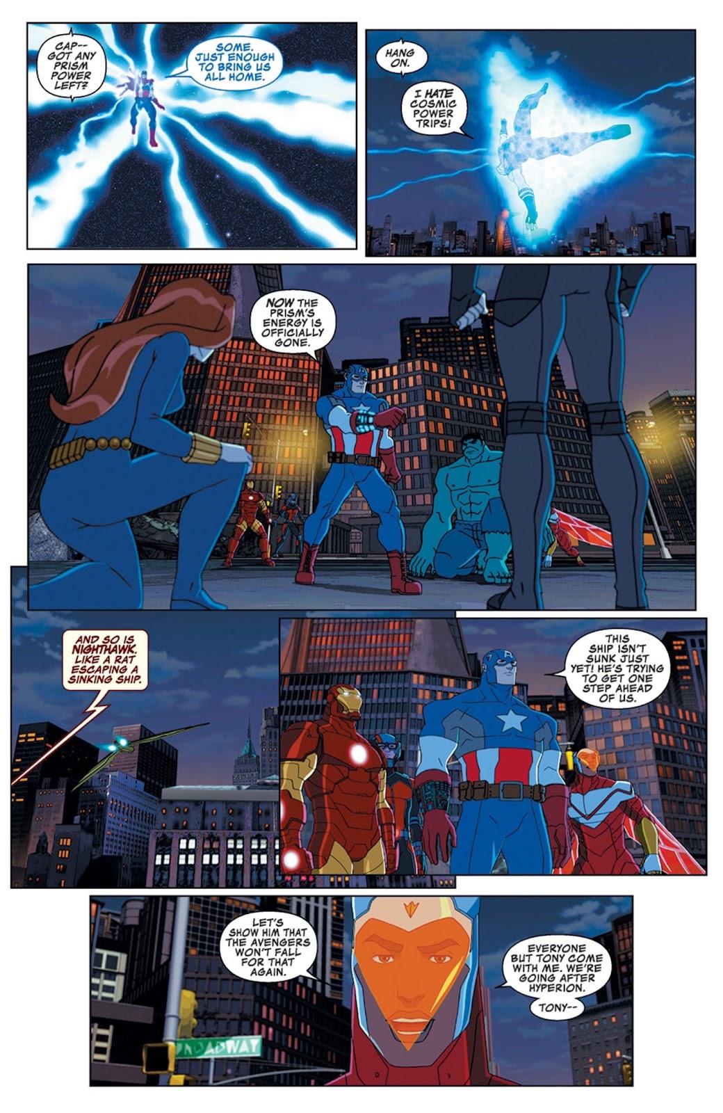 Read online Marvel Universe Avengers Assemble Season 2 comic -  Issue #14 - 20
