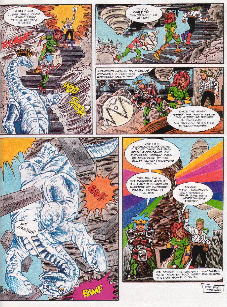 Read online Sonic the Comic comic -  Issue #27 - 29