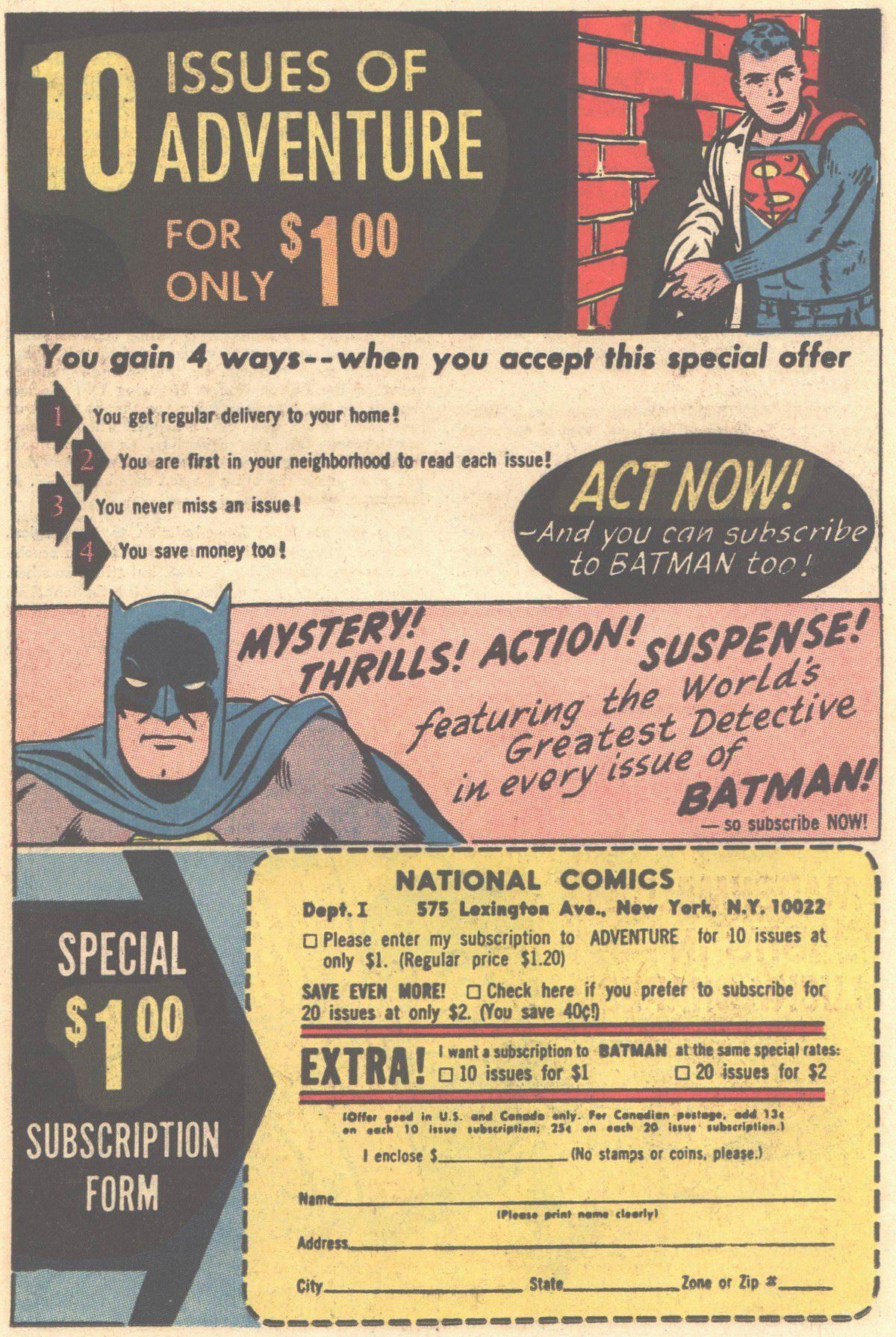Read online Adventure Comics (1938) comic -  Issue #334 - 34