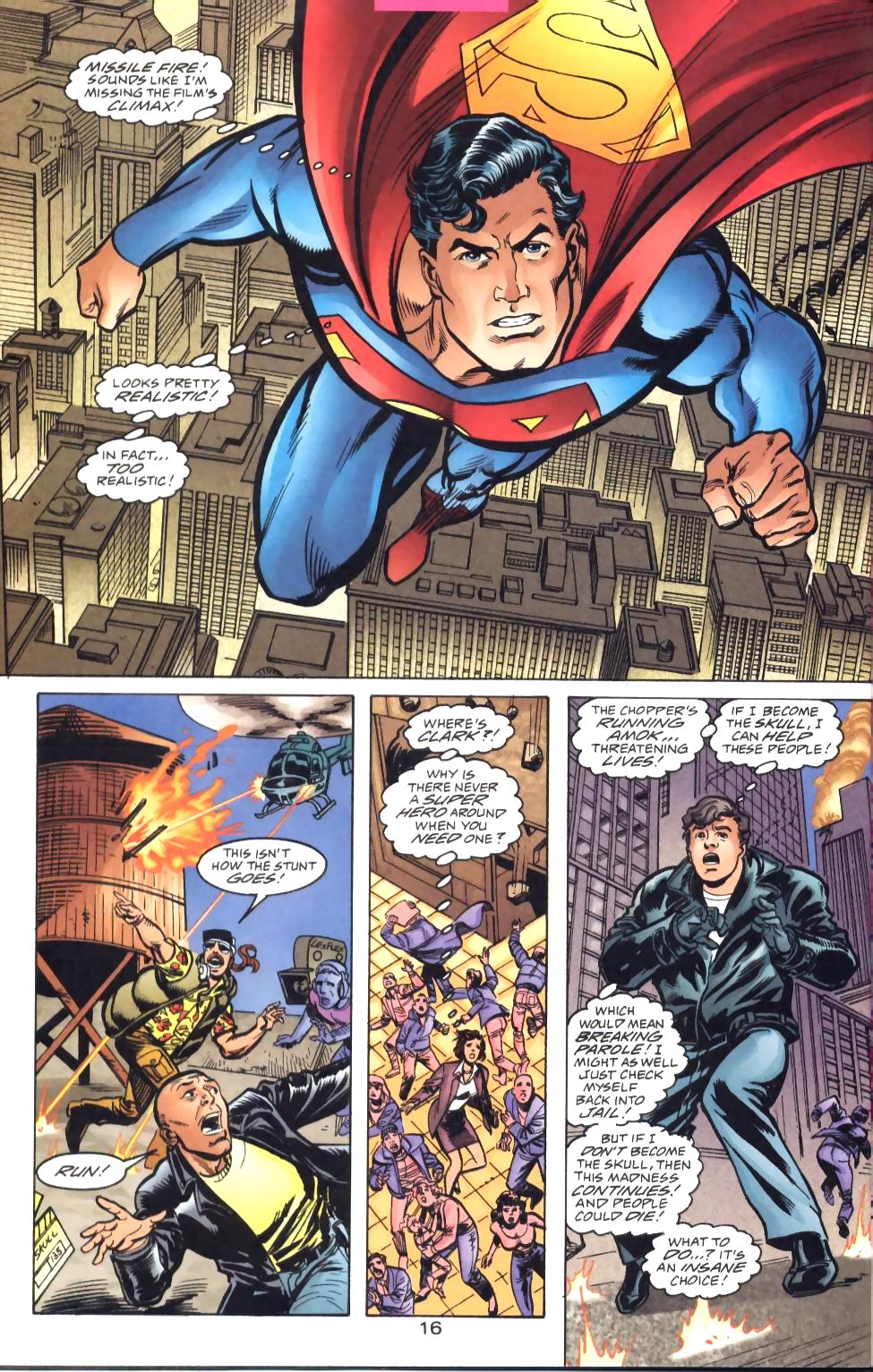 Read online Adventures of Superman (1987) comic -  Issue #571 - 18