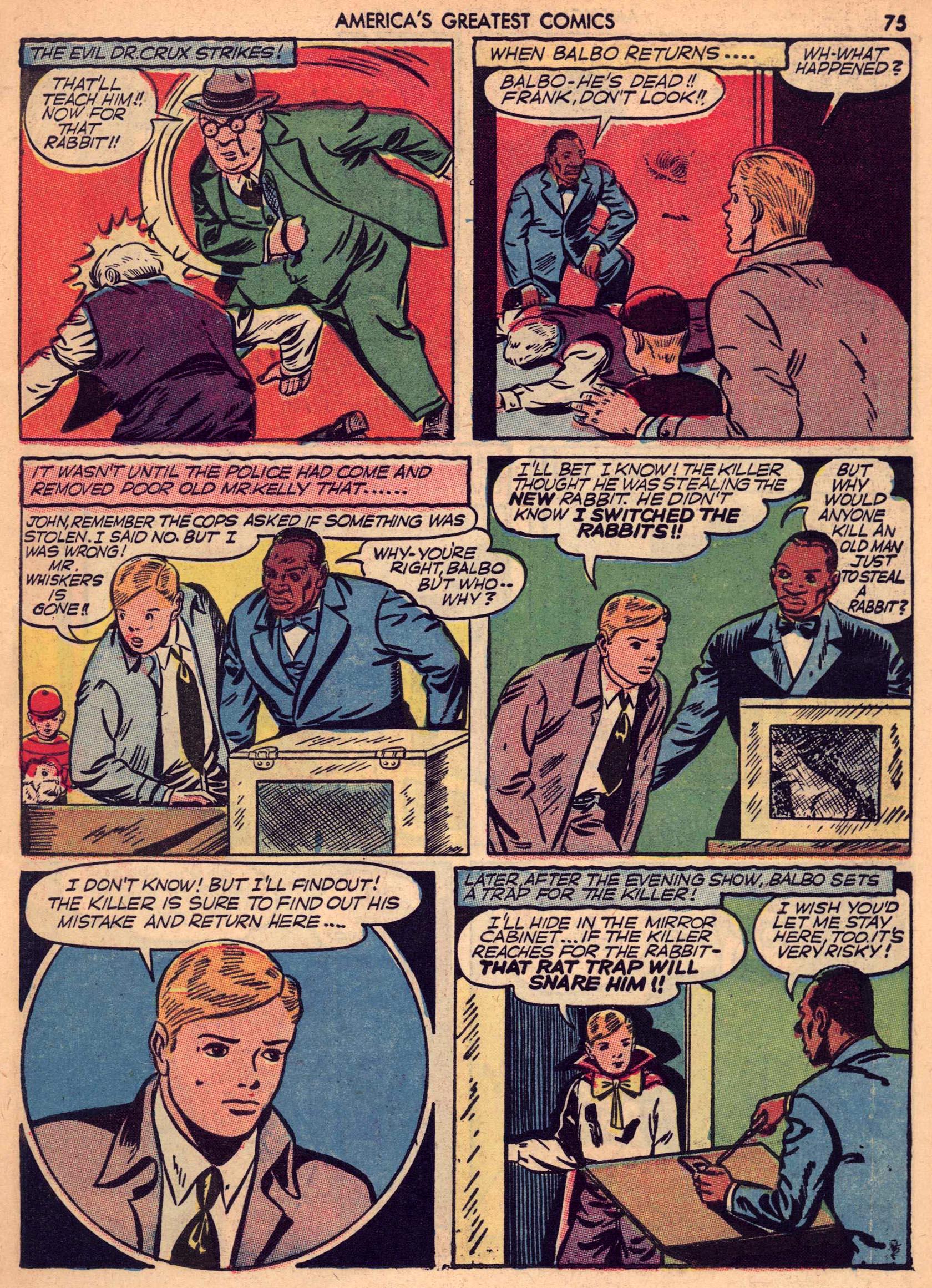 Read online America's Greatest Comics comic -  Issue #7 - 74