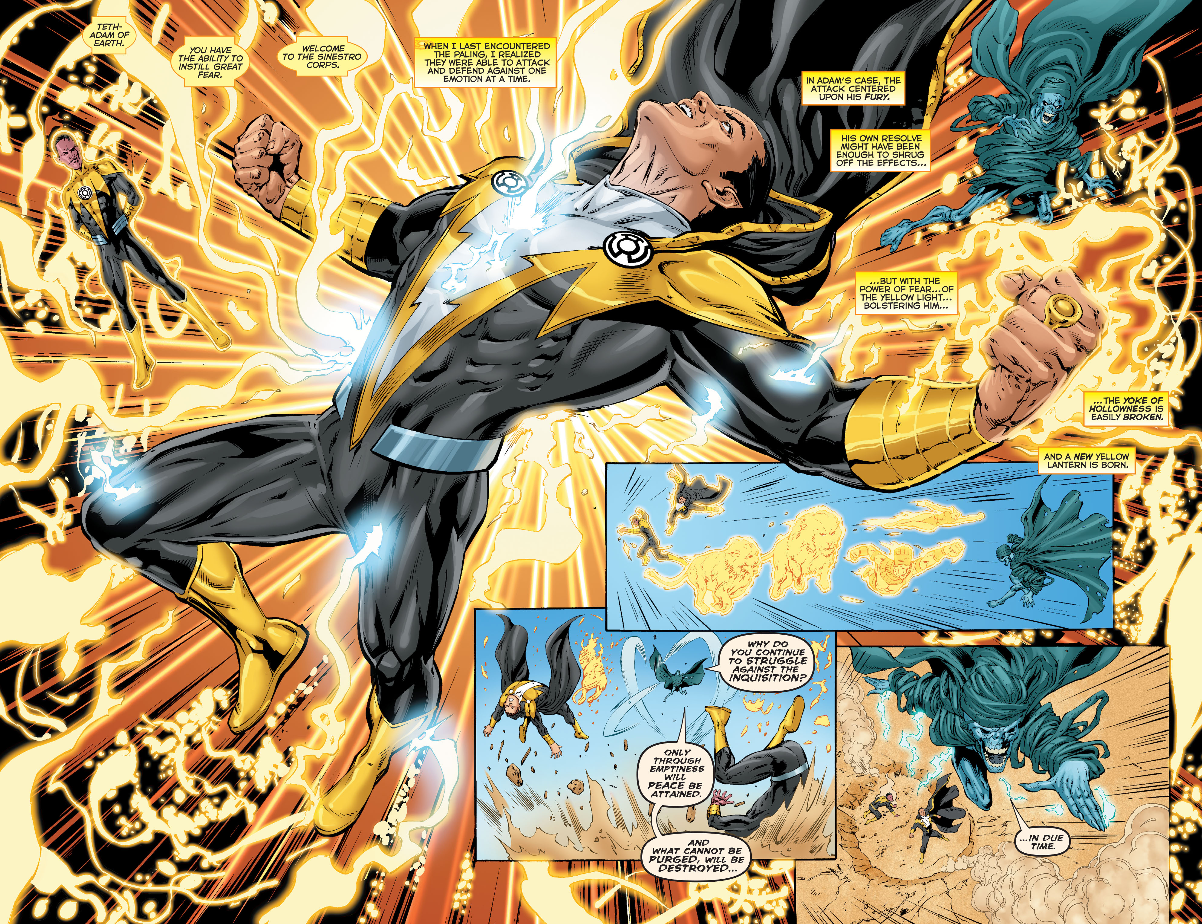 Read online Sinestro comic -  Issue #17 - 15
