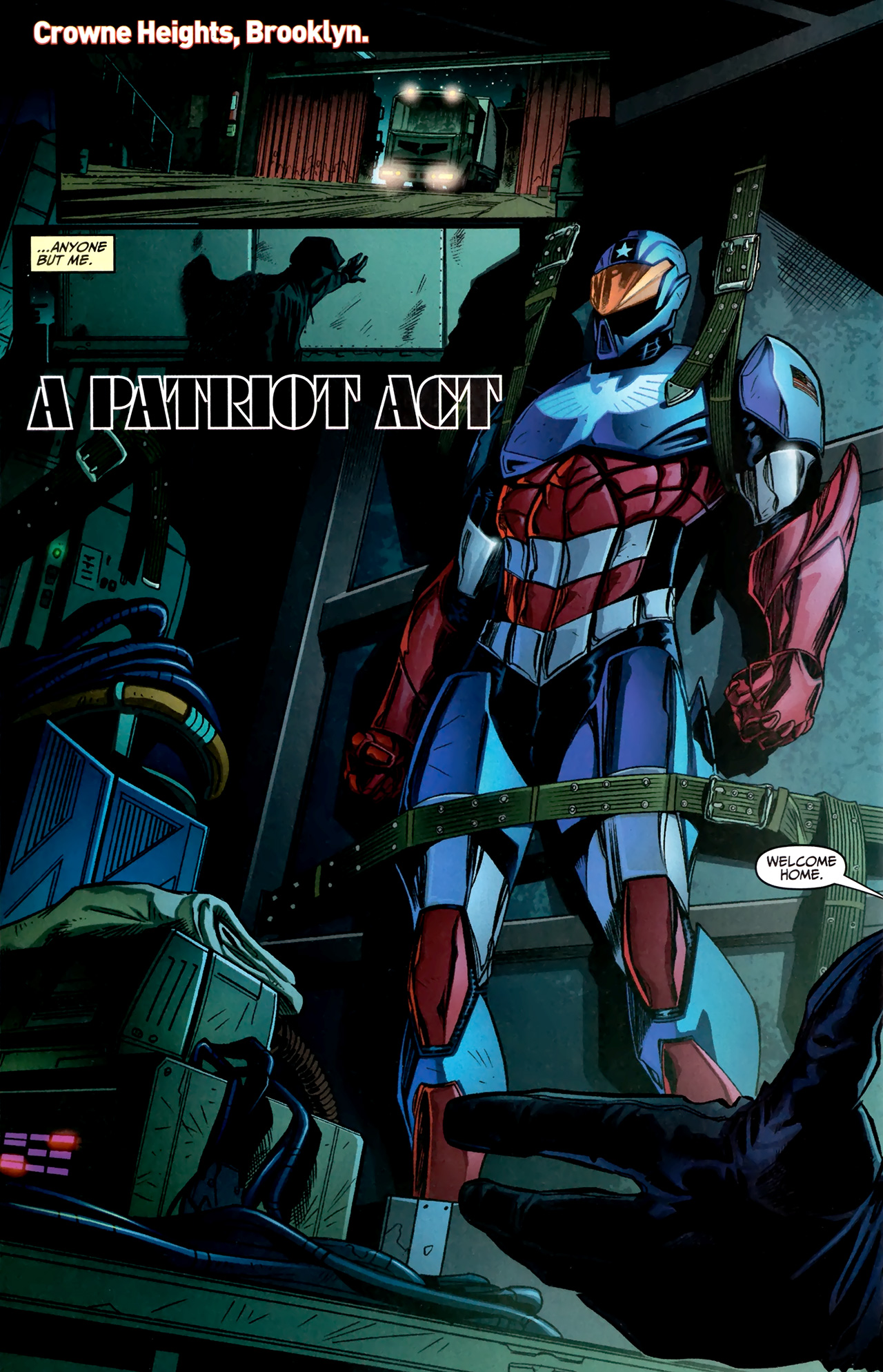 Read online Amazing Spider-Man Presents: American Son comic -  Issue #1 - 3